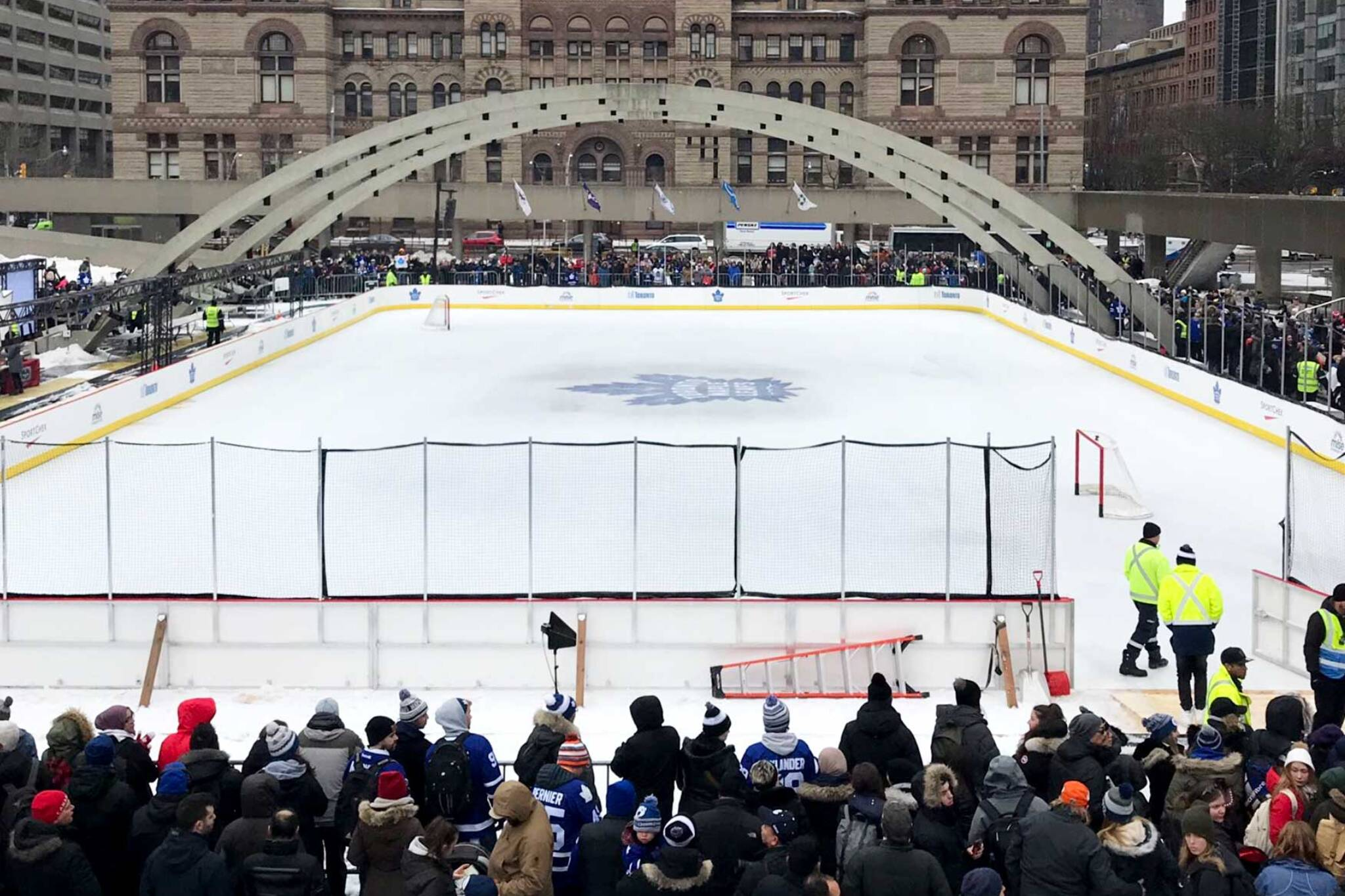 maple leafs nathan phillips square