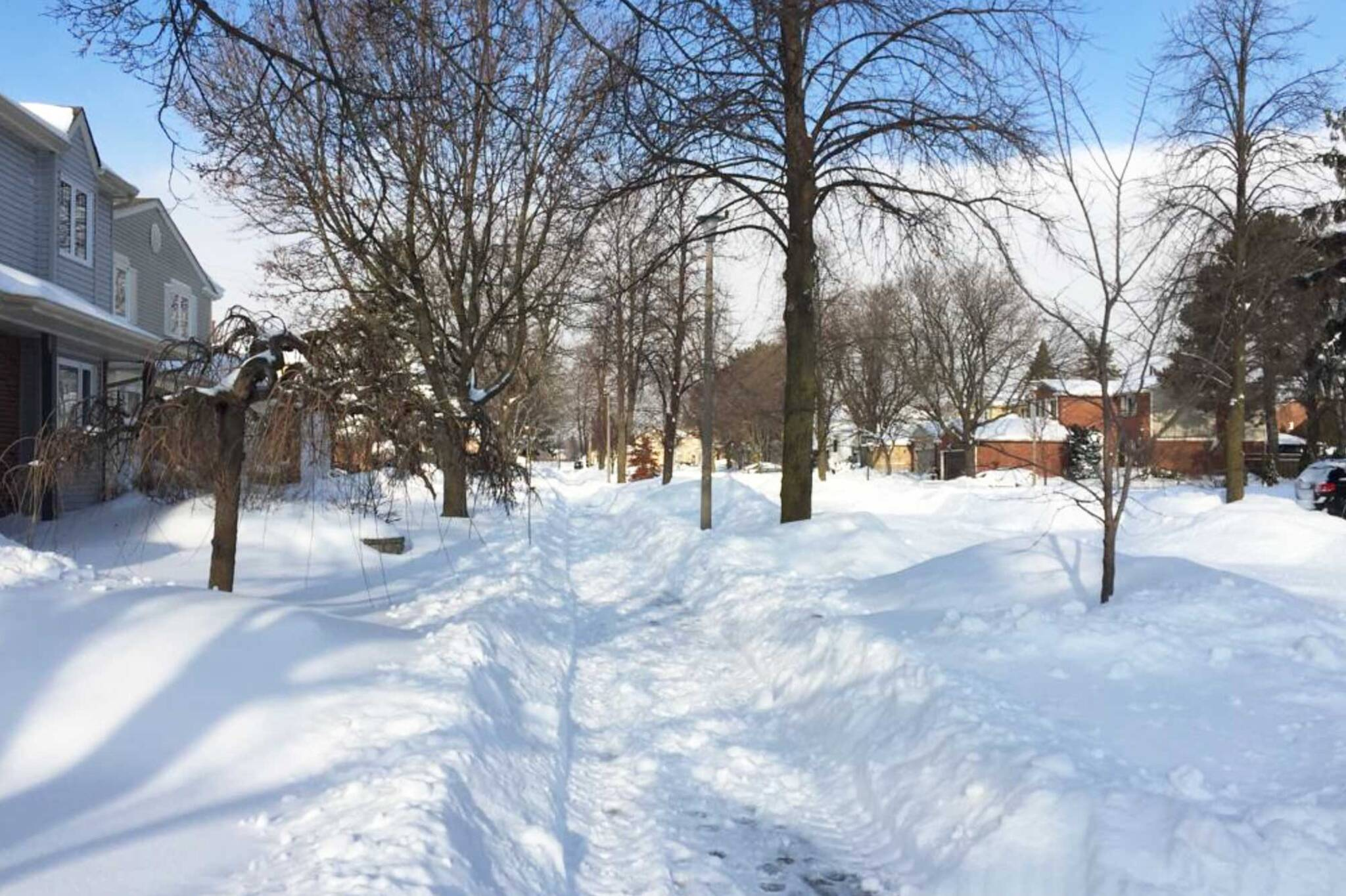city of toronto snow removal complaints