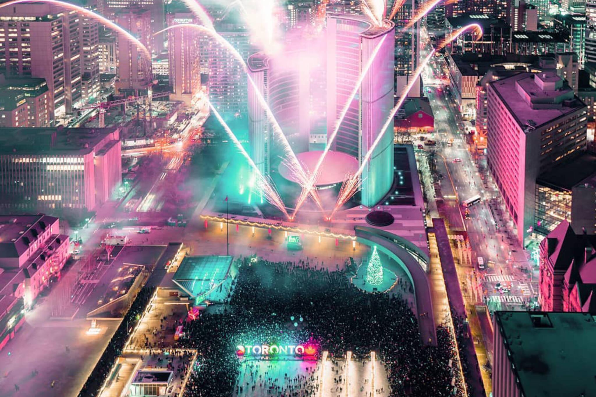 New Years Road Closure Toronto