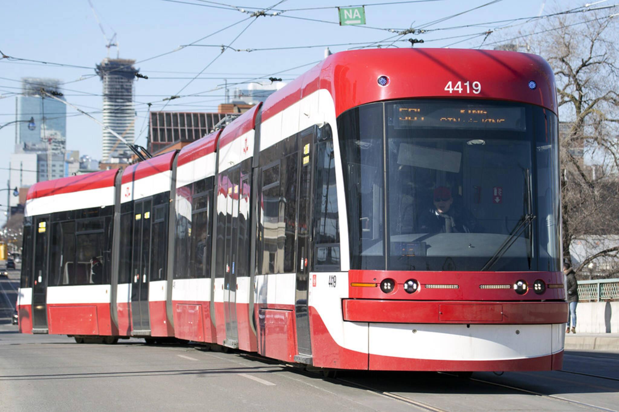 bombardier ttc streetcars
