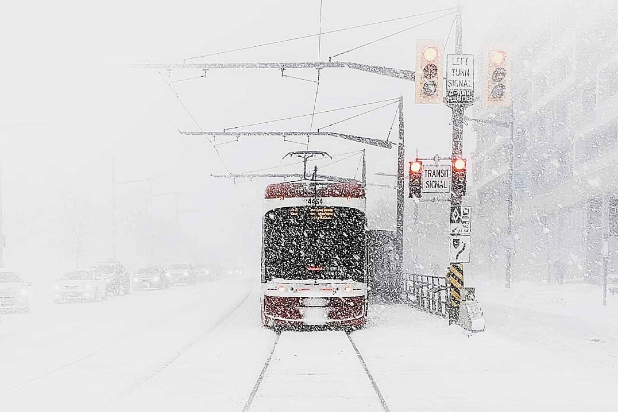 toronto snow record
