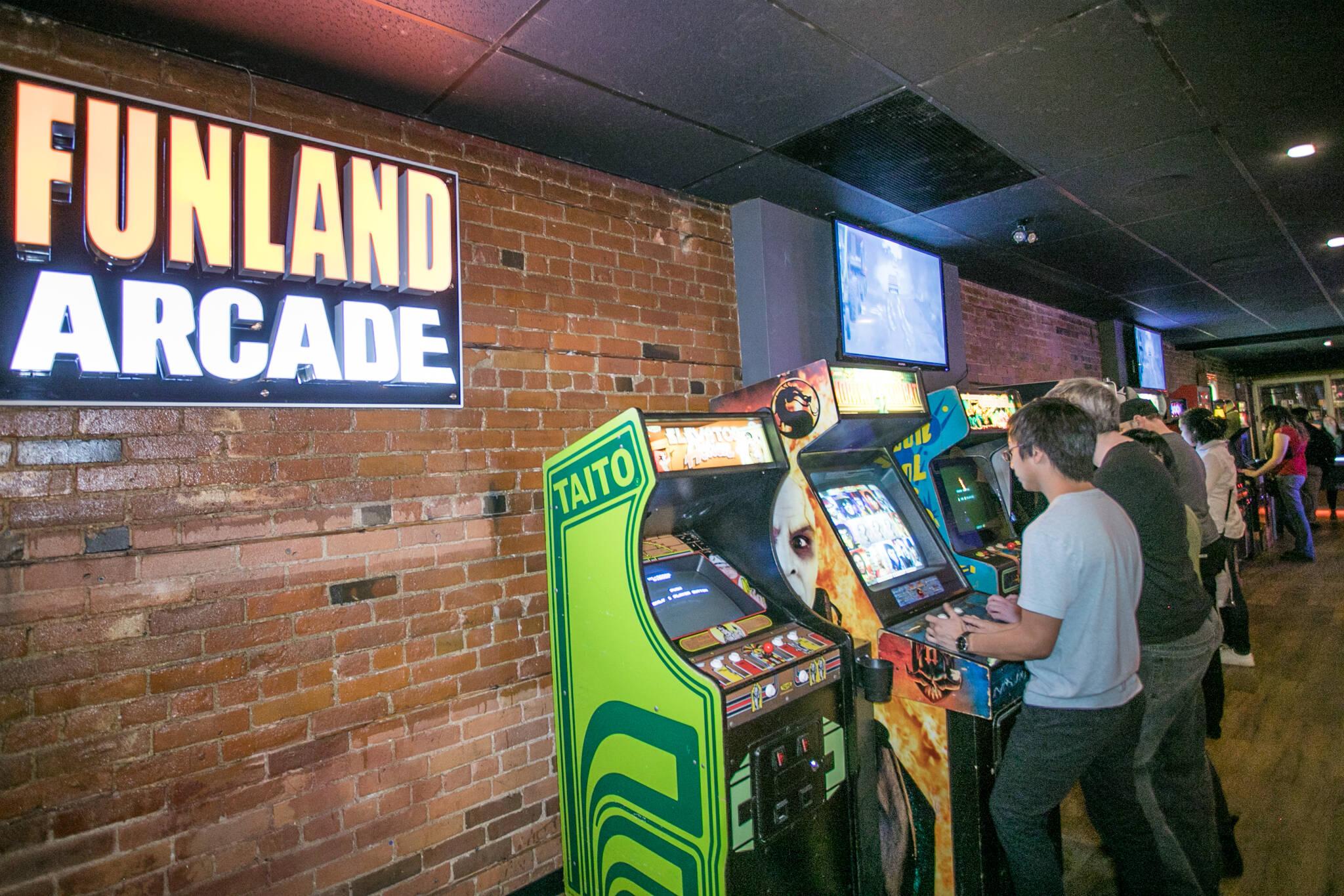toronto arcades