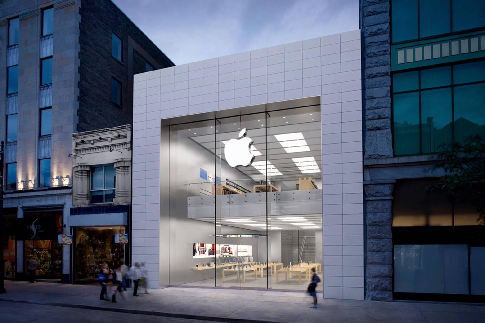 Apple toronto bloor