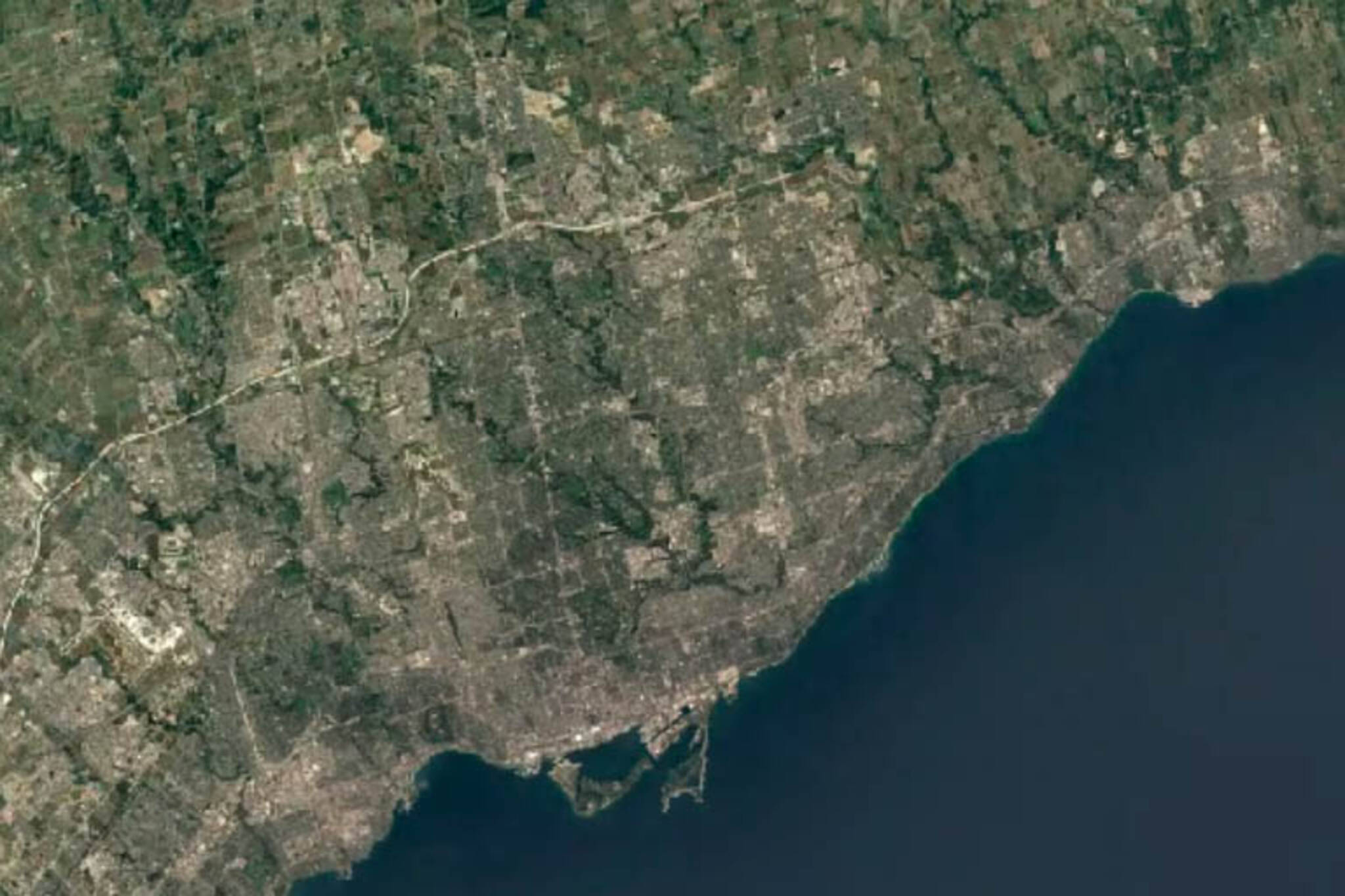 Satellite timelapse shows how much Toronto has changed in 35 ...