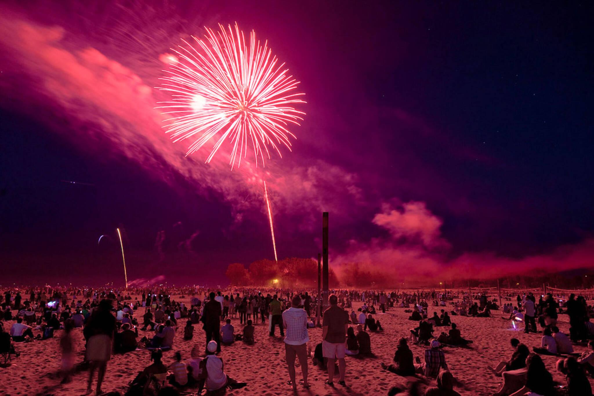 Victoria Day fireworks 2019 toronto