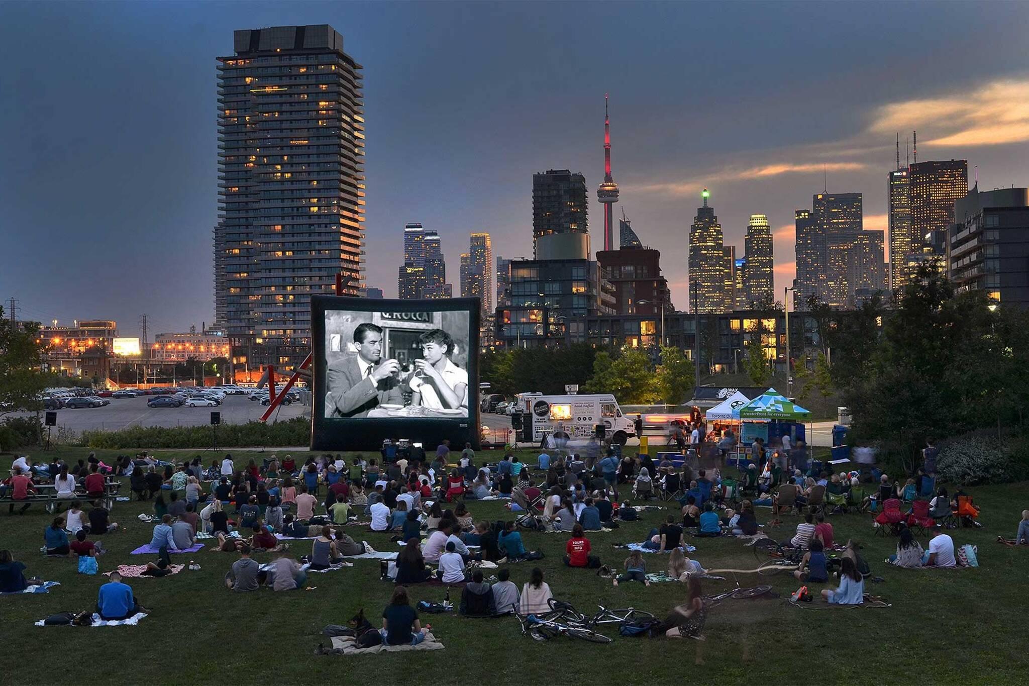 outdoor movies toronto