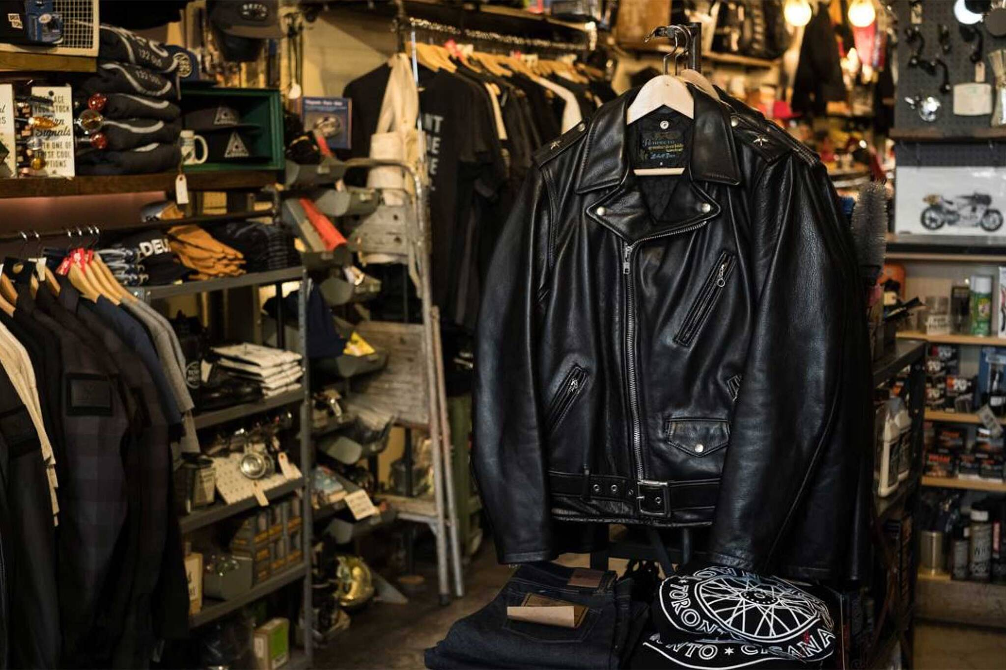 10 places to buy a leather jacket in Toronto