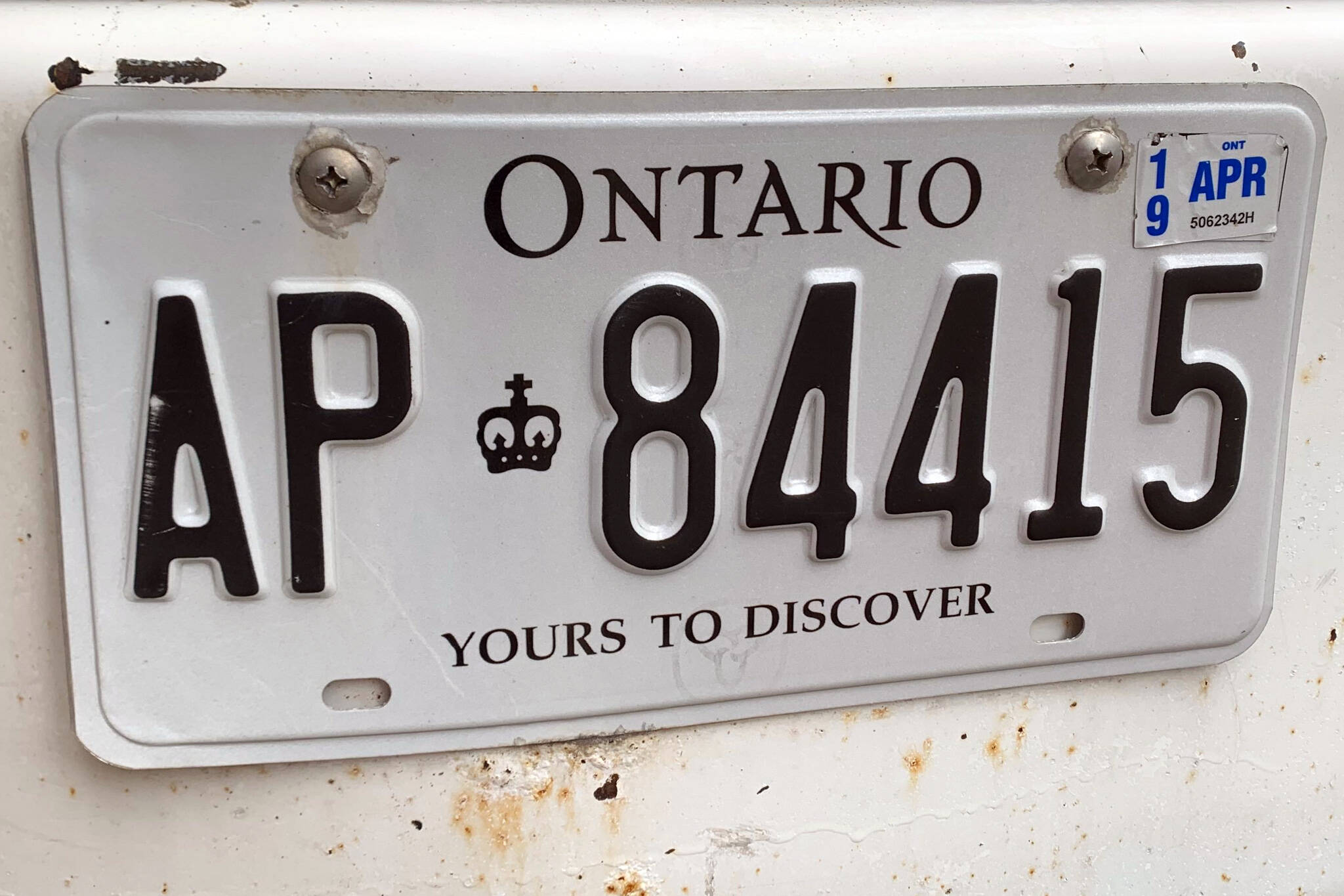 Ontario Government Might Want To Get Rid Of Front Licence Plates