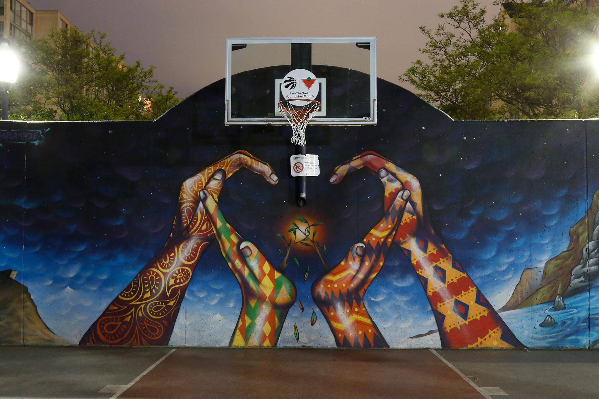 basketball courts toronto