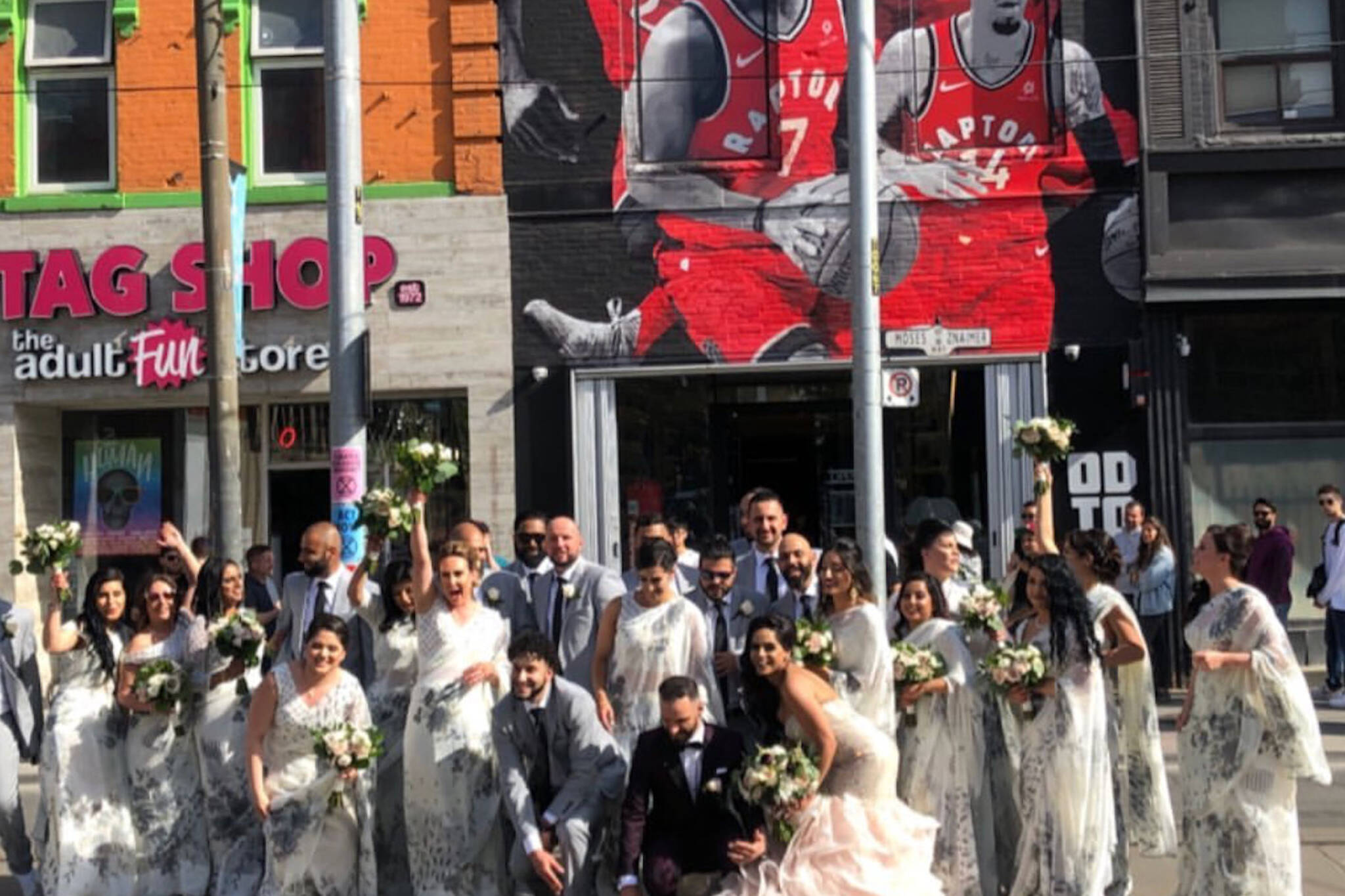 toronto raptors wedding
