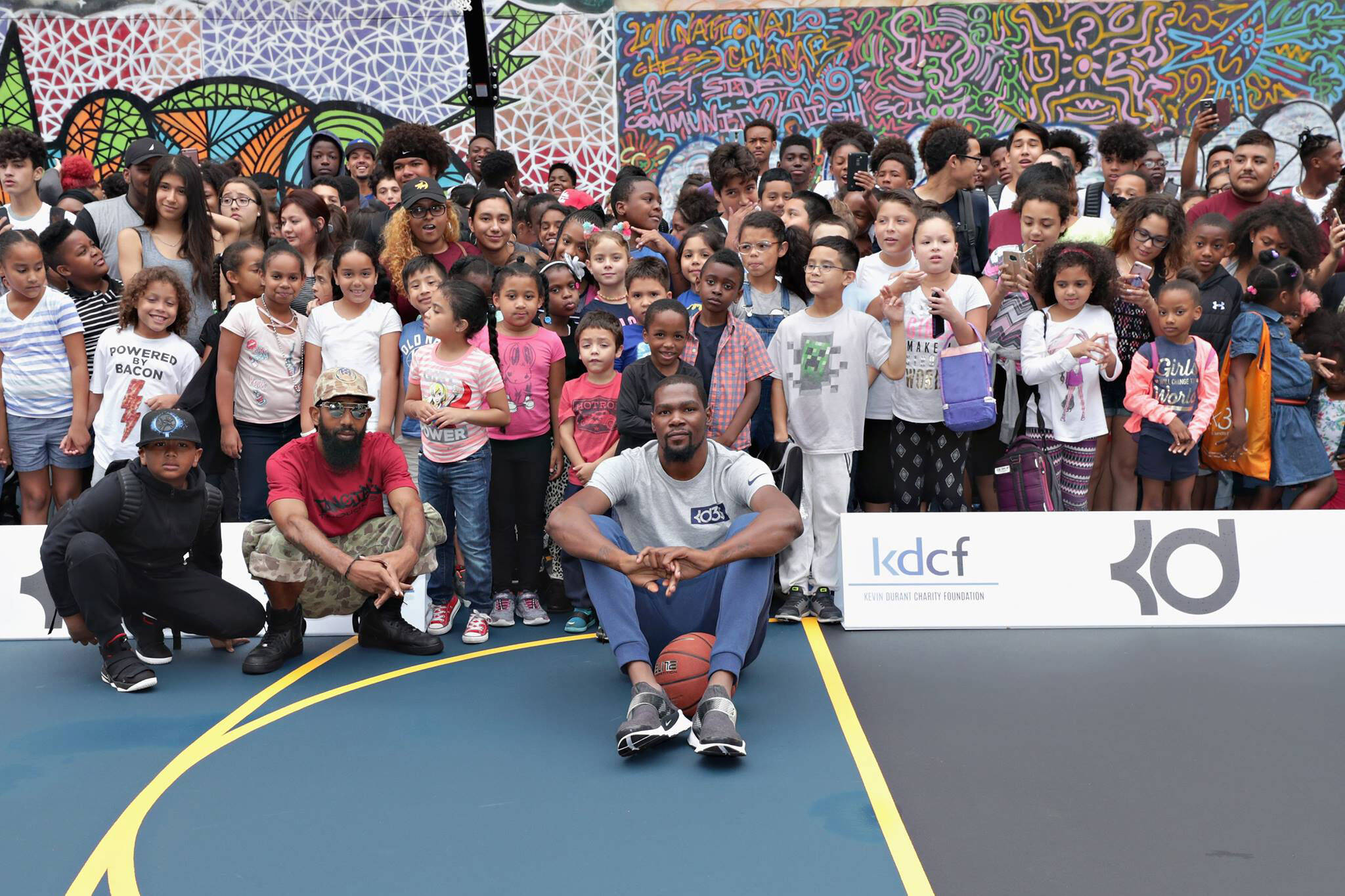 kevin durant charity