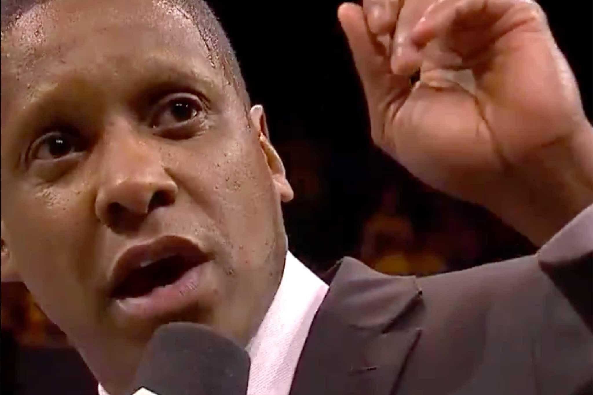 3f3d5122383d9a Toronto Raptors president Masai Ujiri accused of assaulting a cop in ...