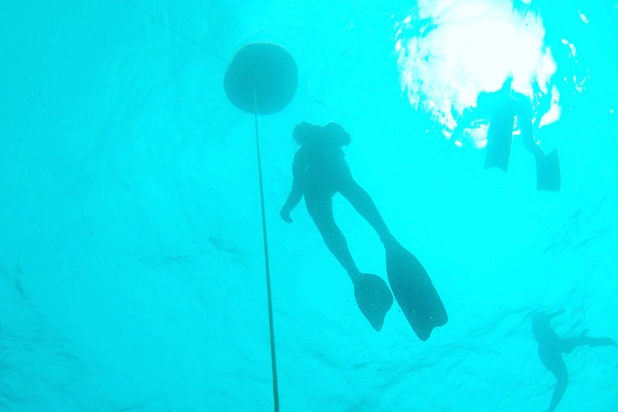 Toronto Island freediving