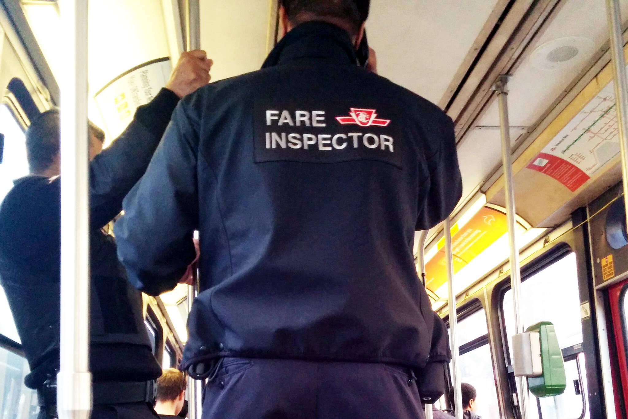 TTC fare inspector