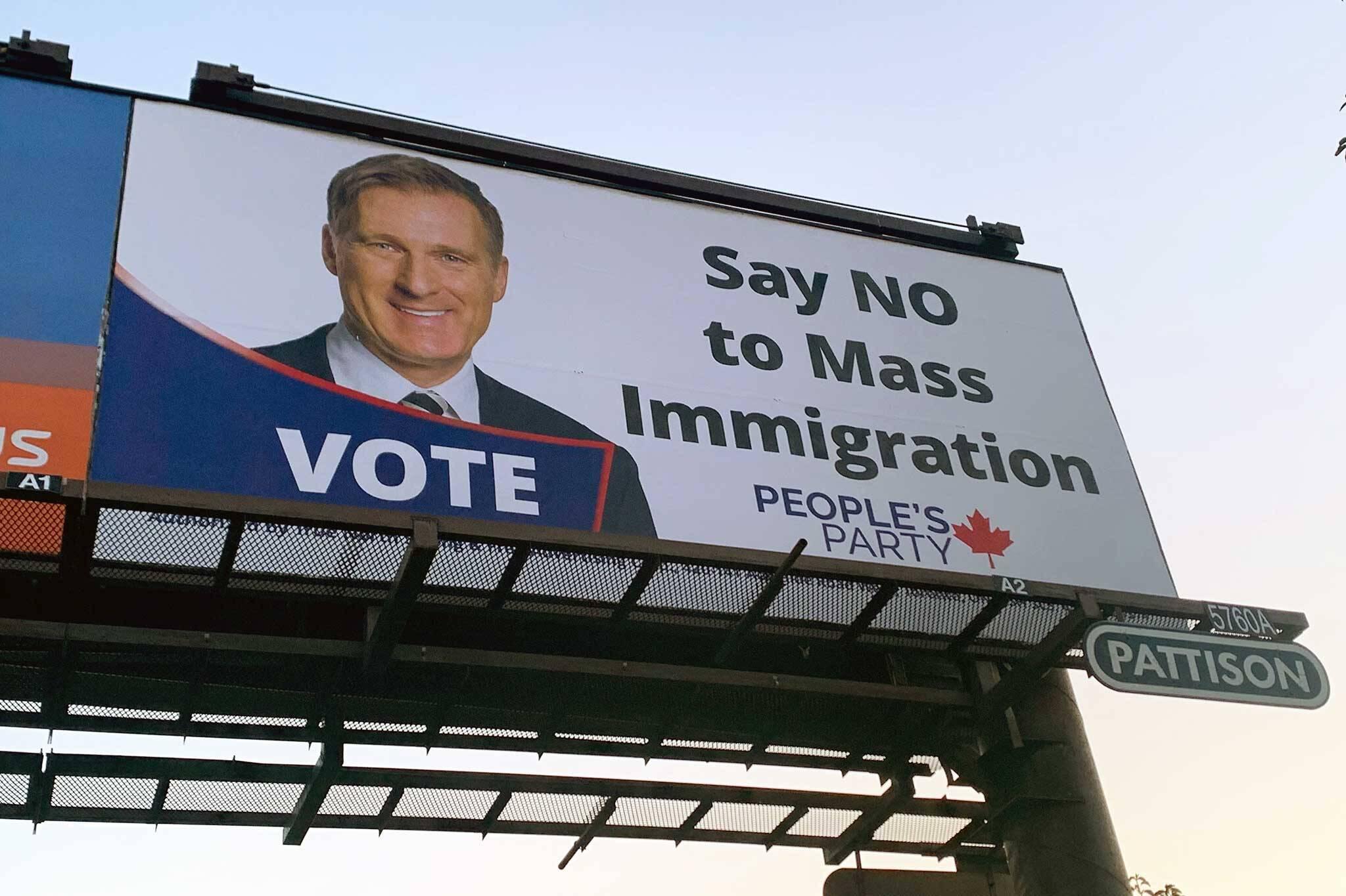 bernier billboard