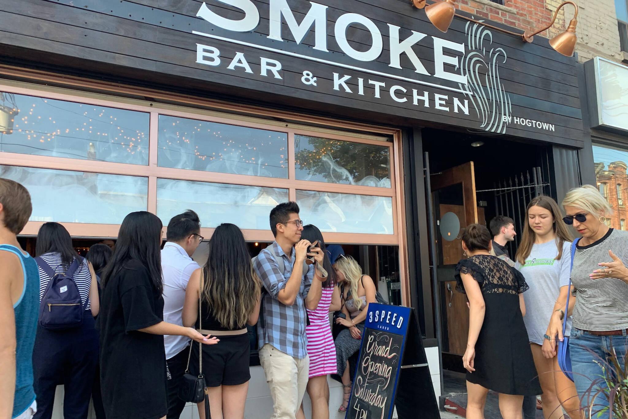 smoke restaurant toronto