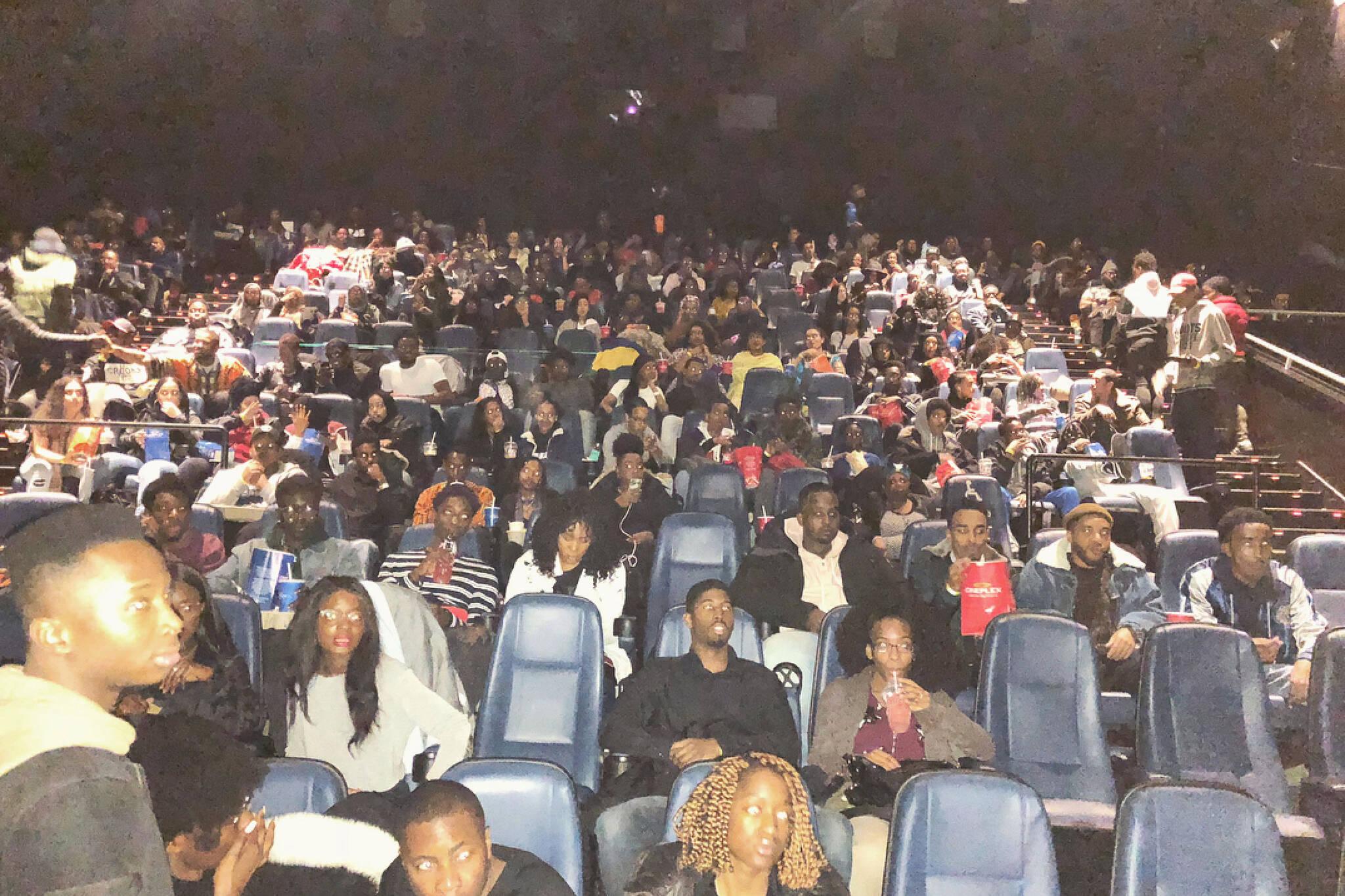 black panther movie toronto