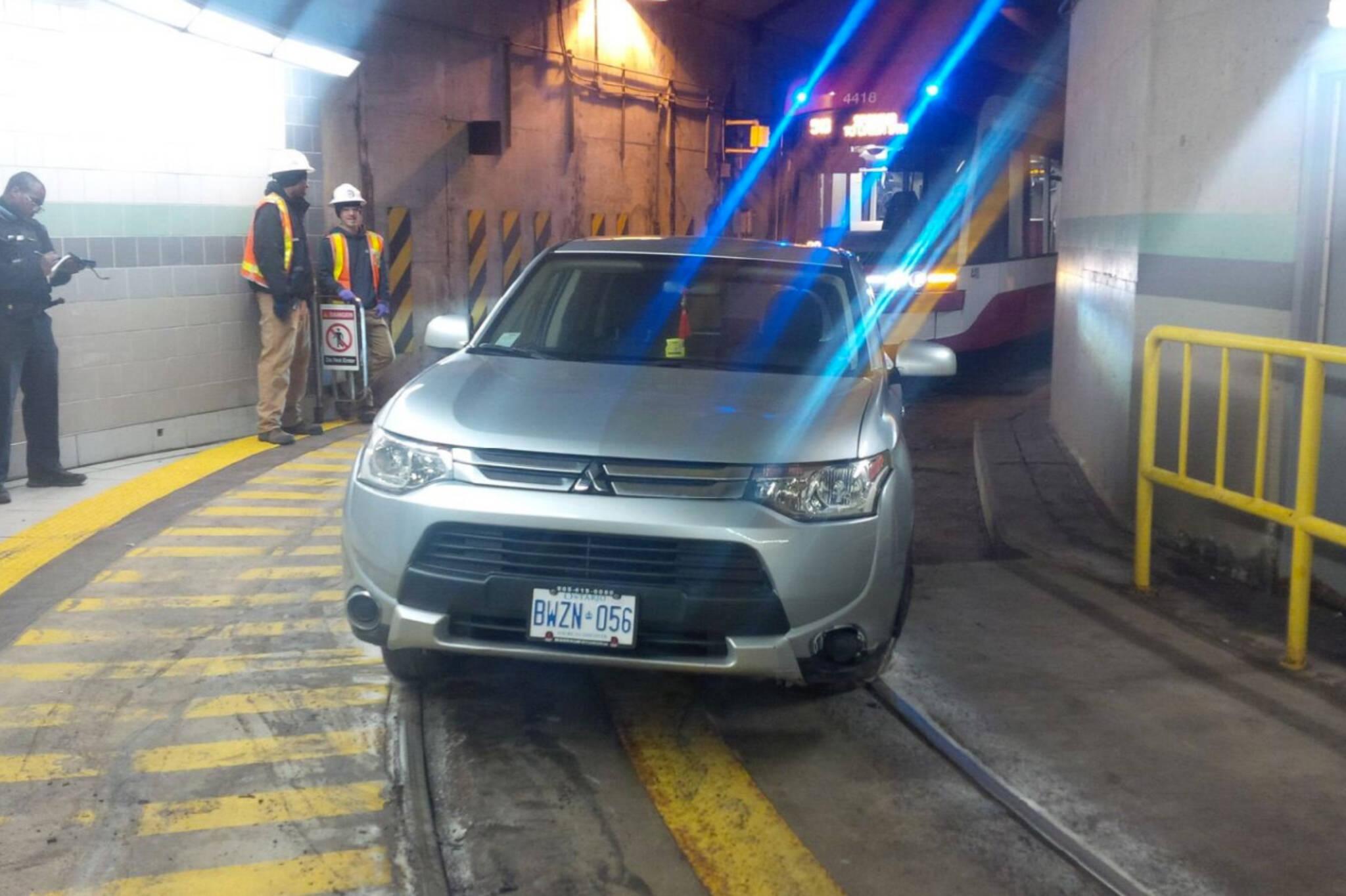 streetcar tunnel toronto