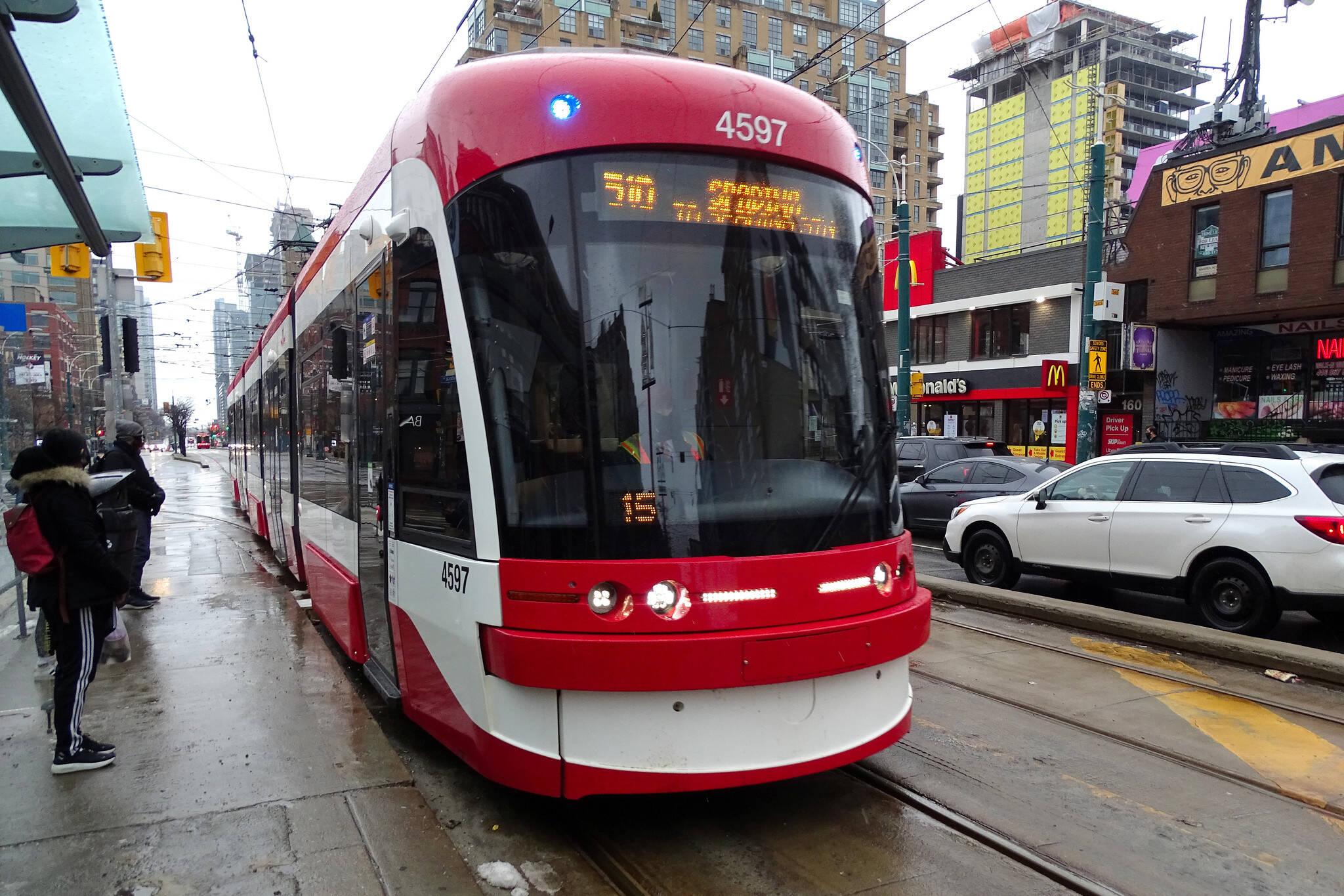 streetcar noise toronto