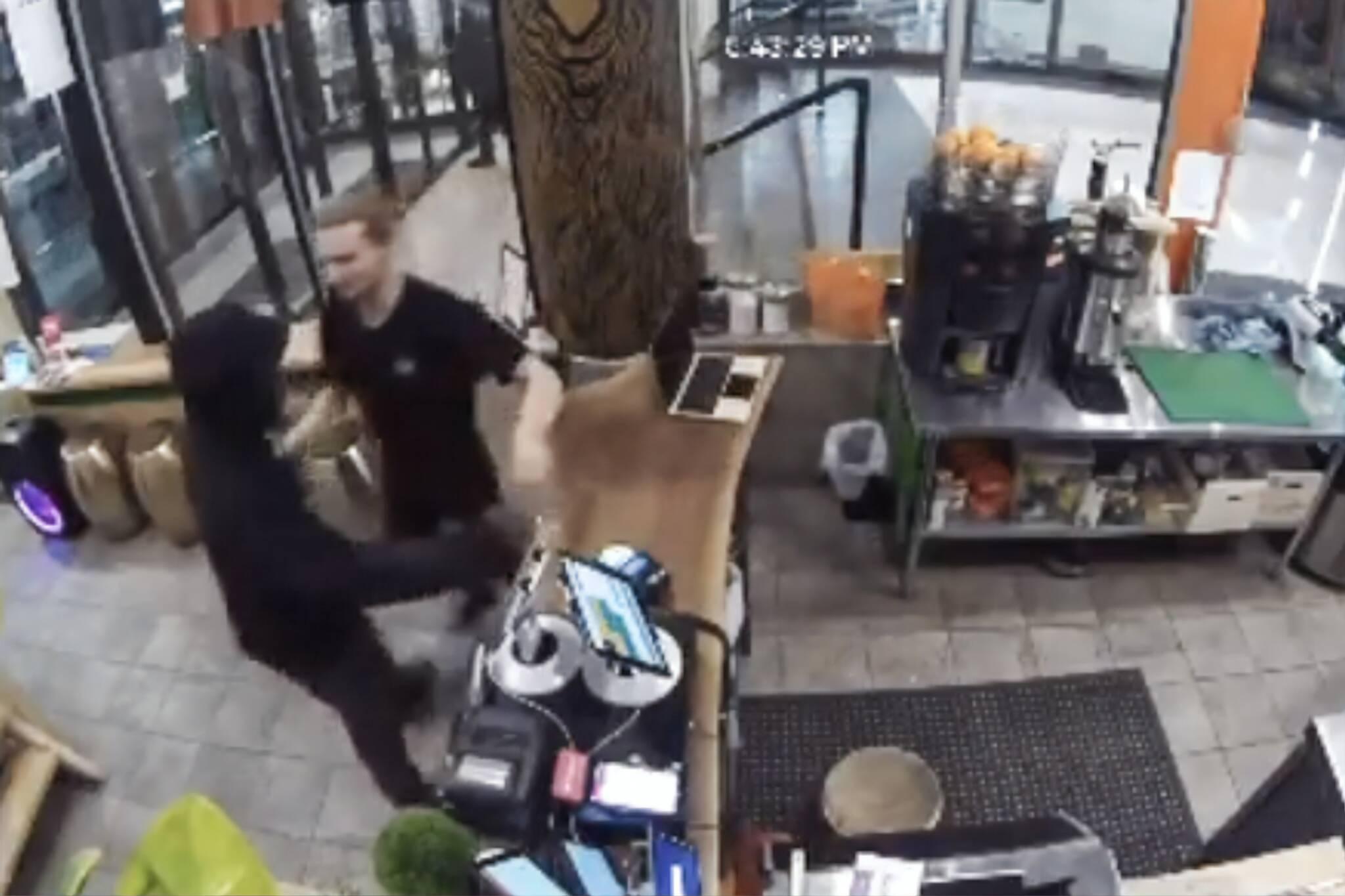 juice bar theft