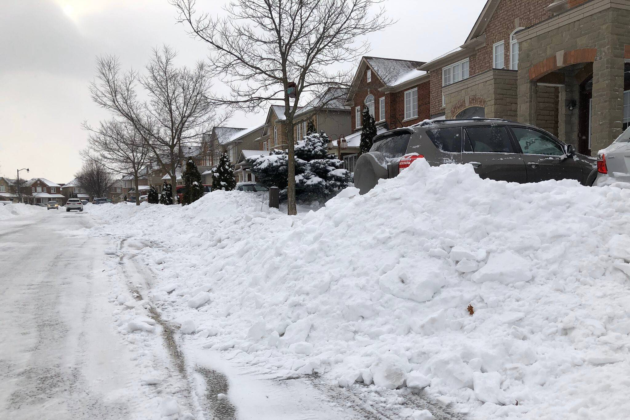 snow removal toronto