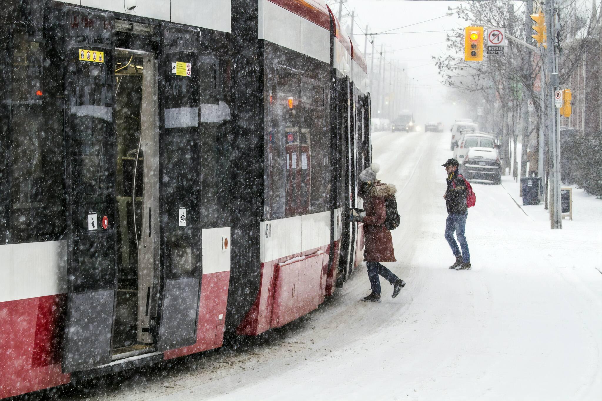 toronto snowfall total