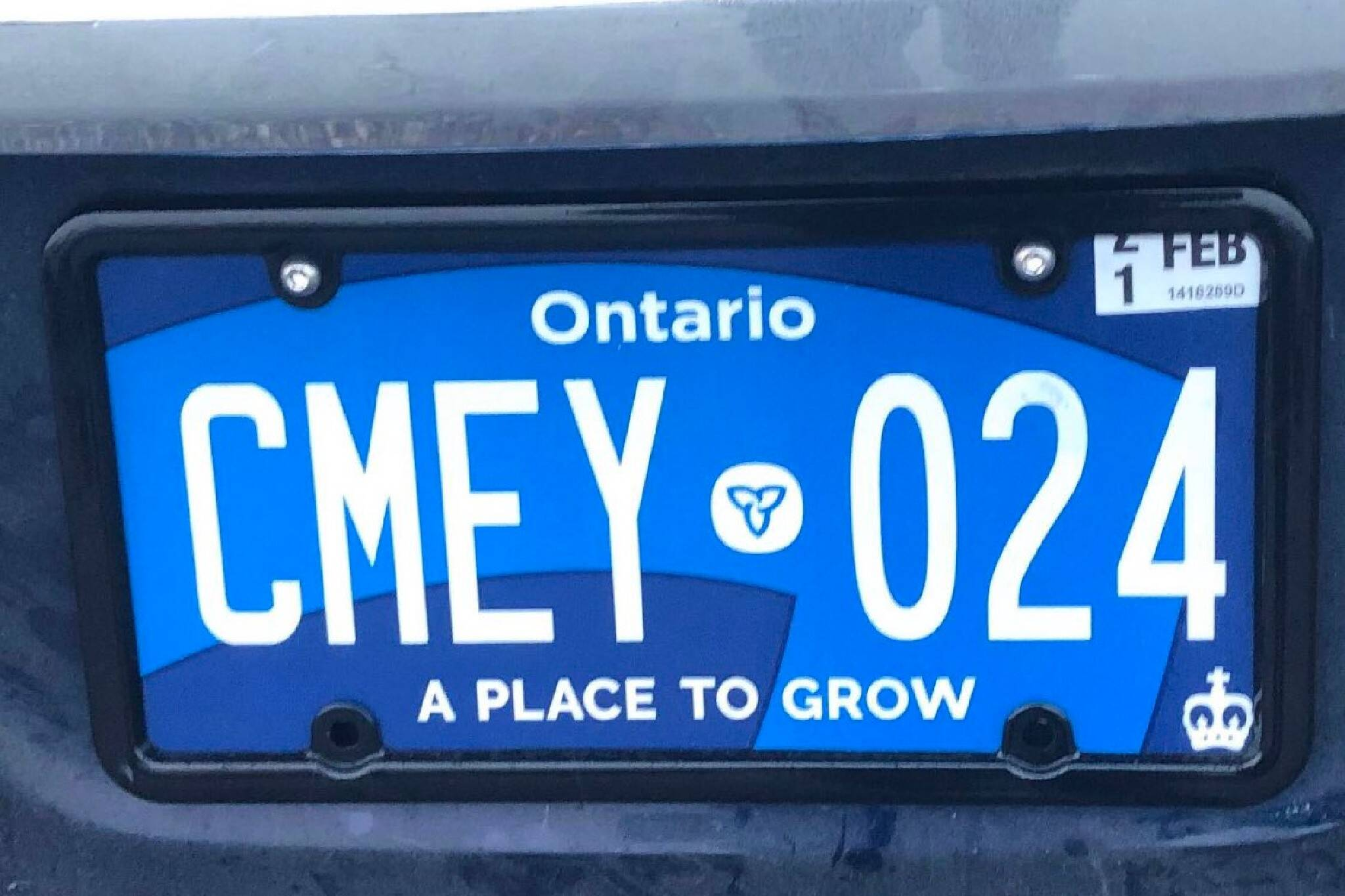 new ontario license plate