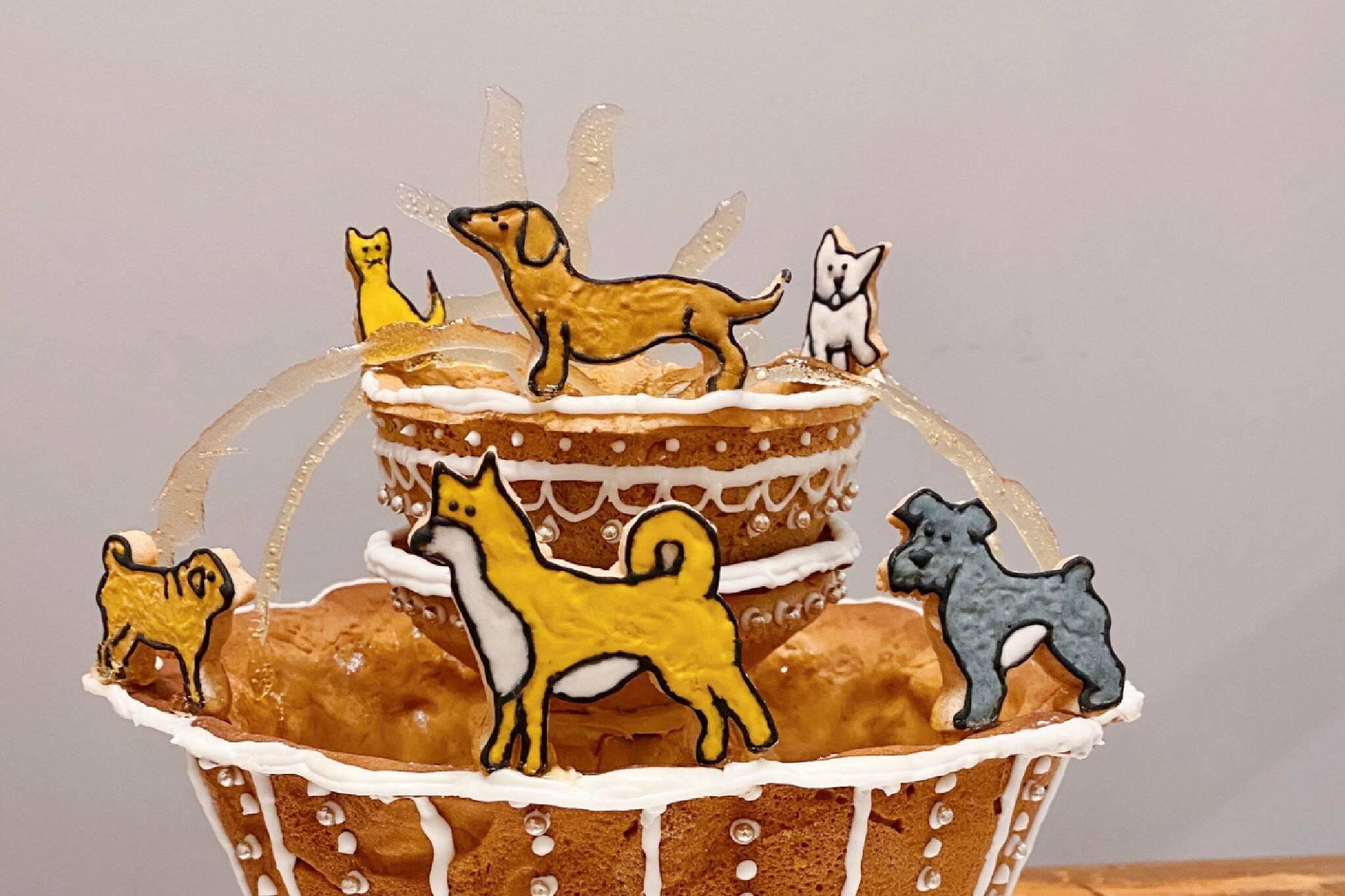 dog fountain toronto