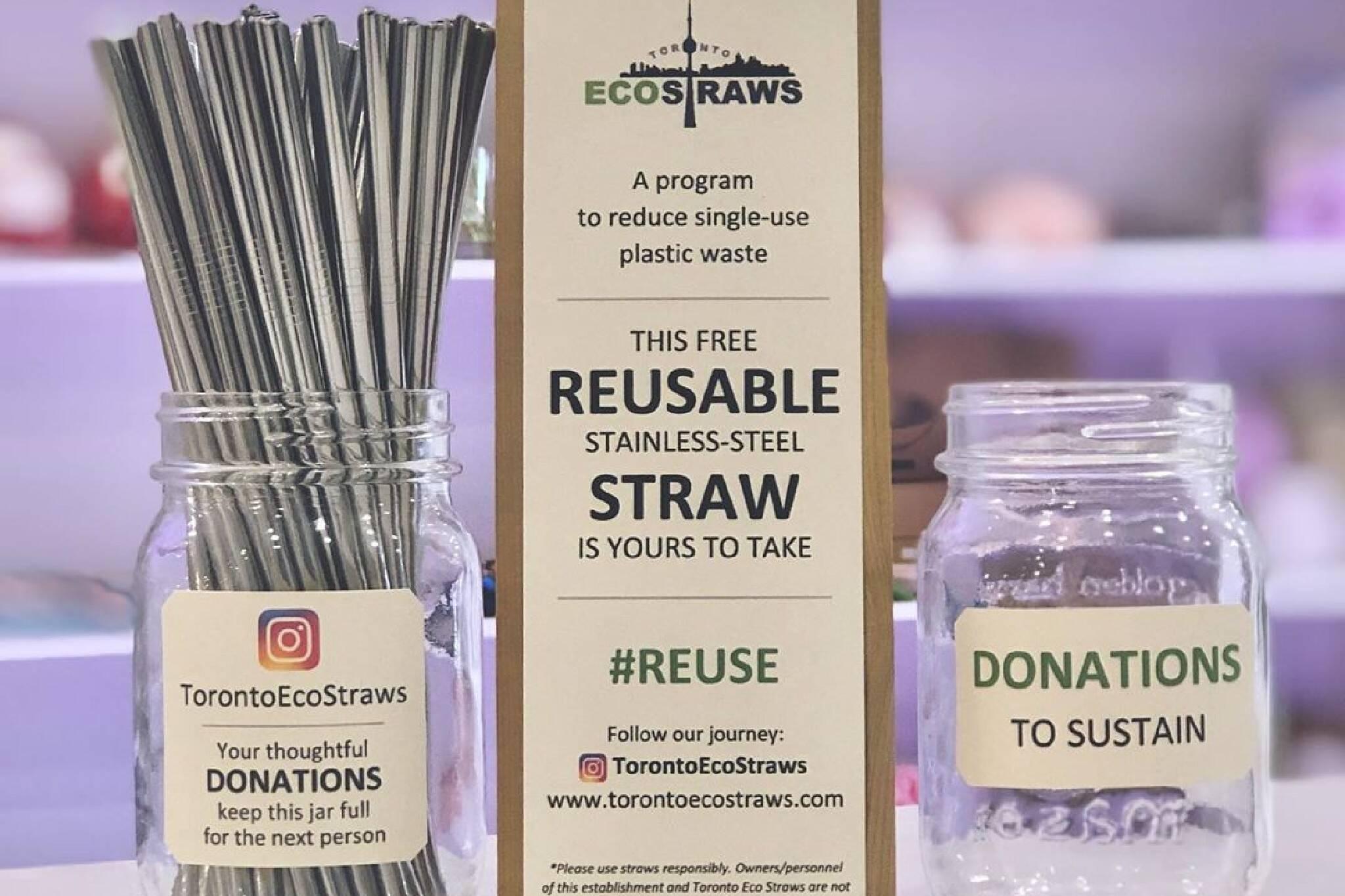 toronto eco straws