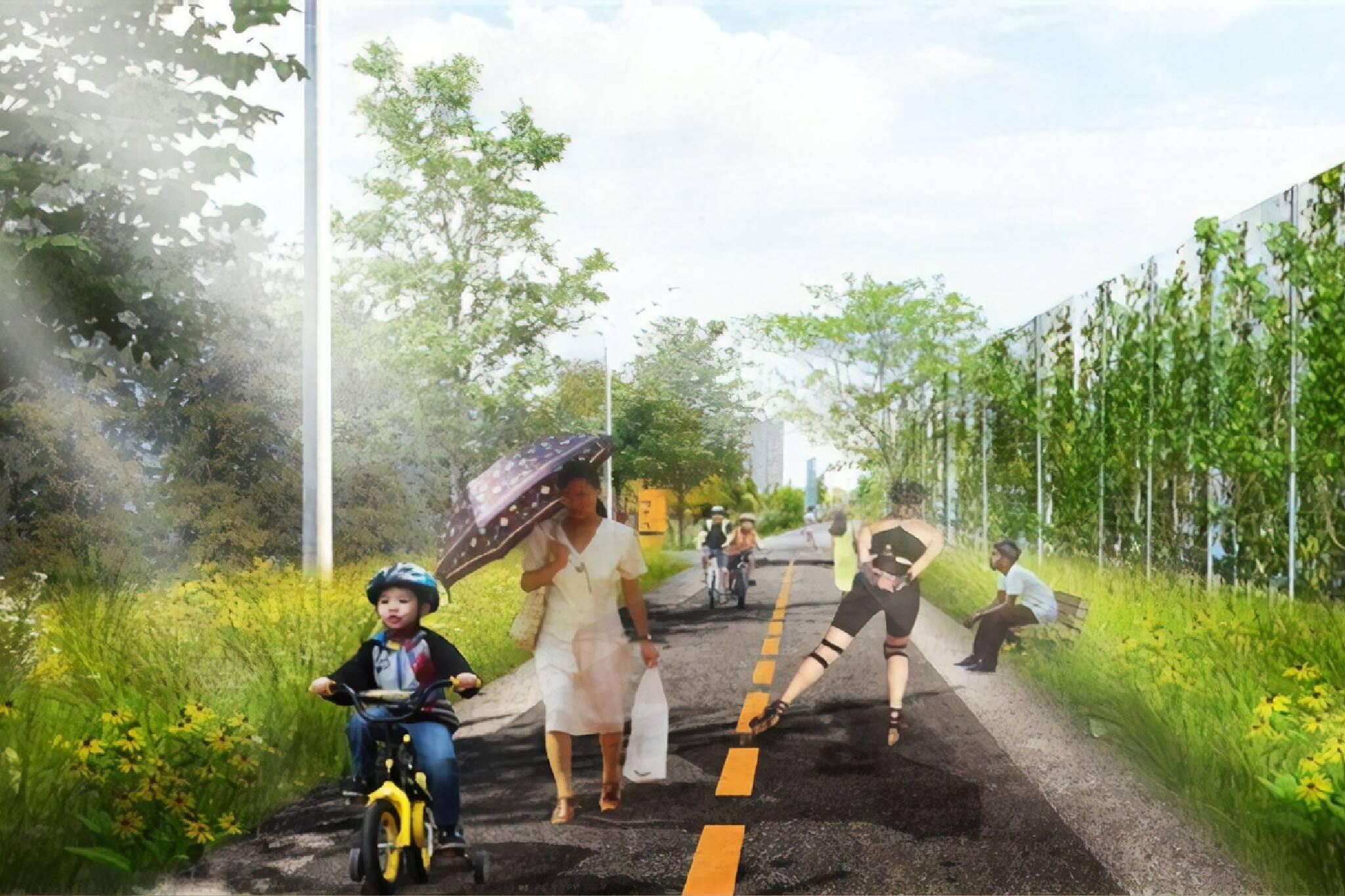 west toronto railpath extension