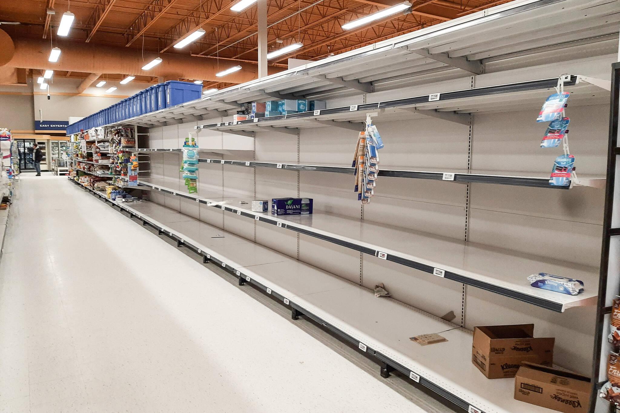 coronavirus panic shopping