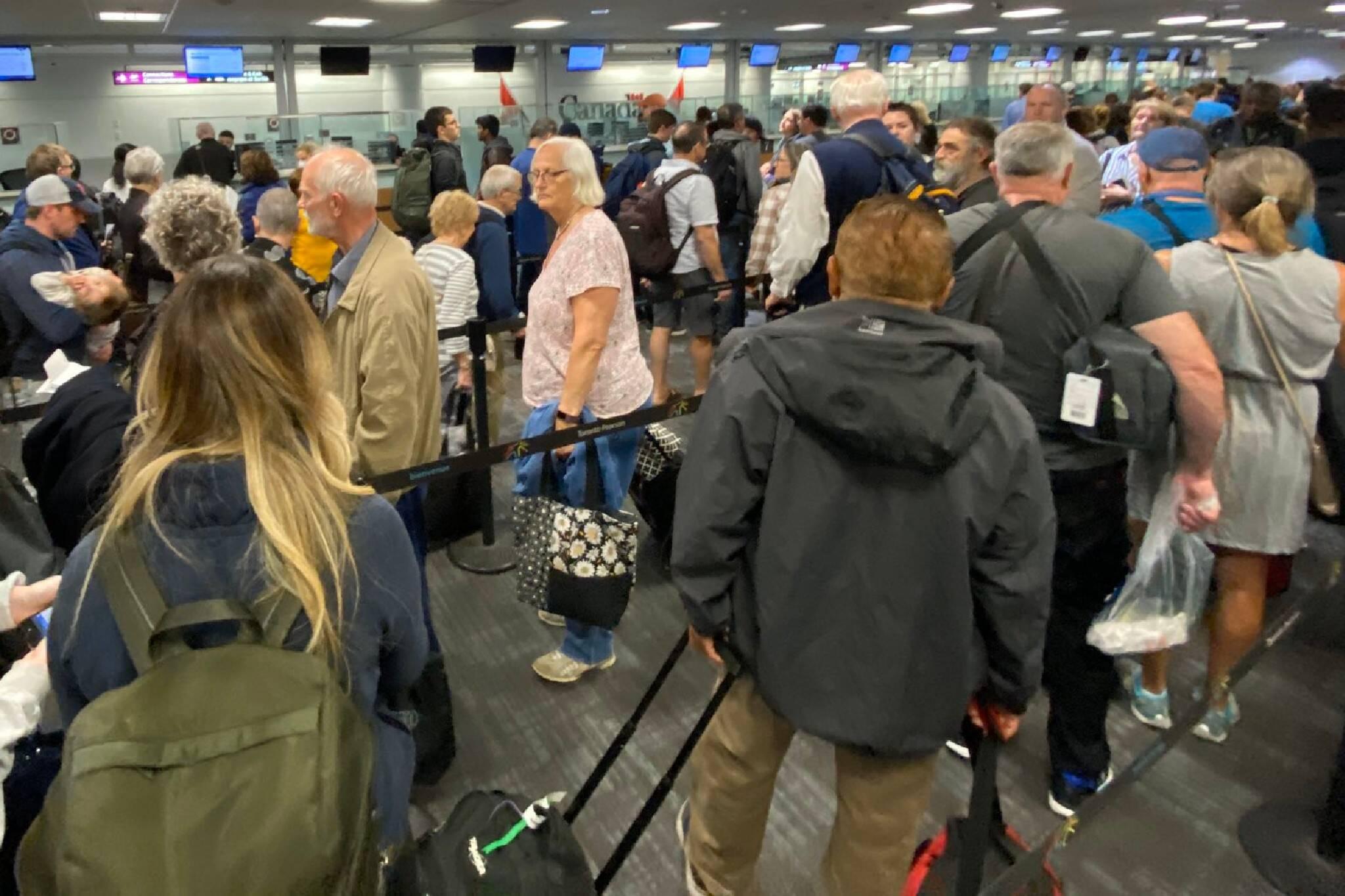 pearson airport screening