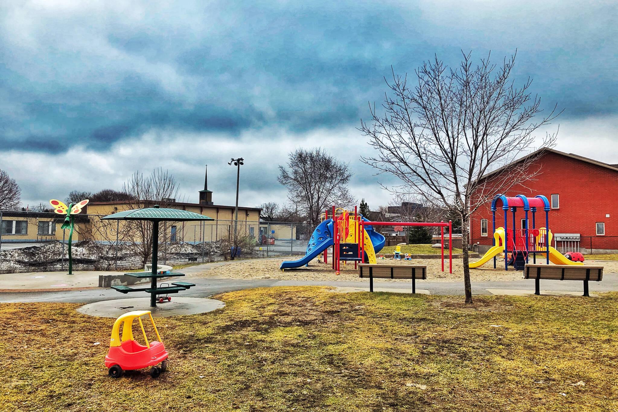 playgrounds toronto