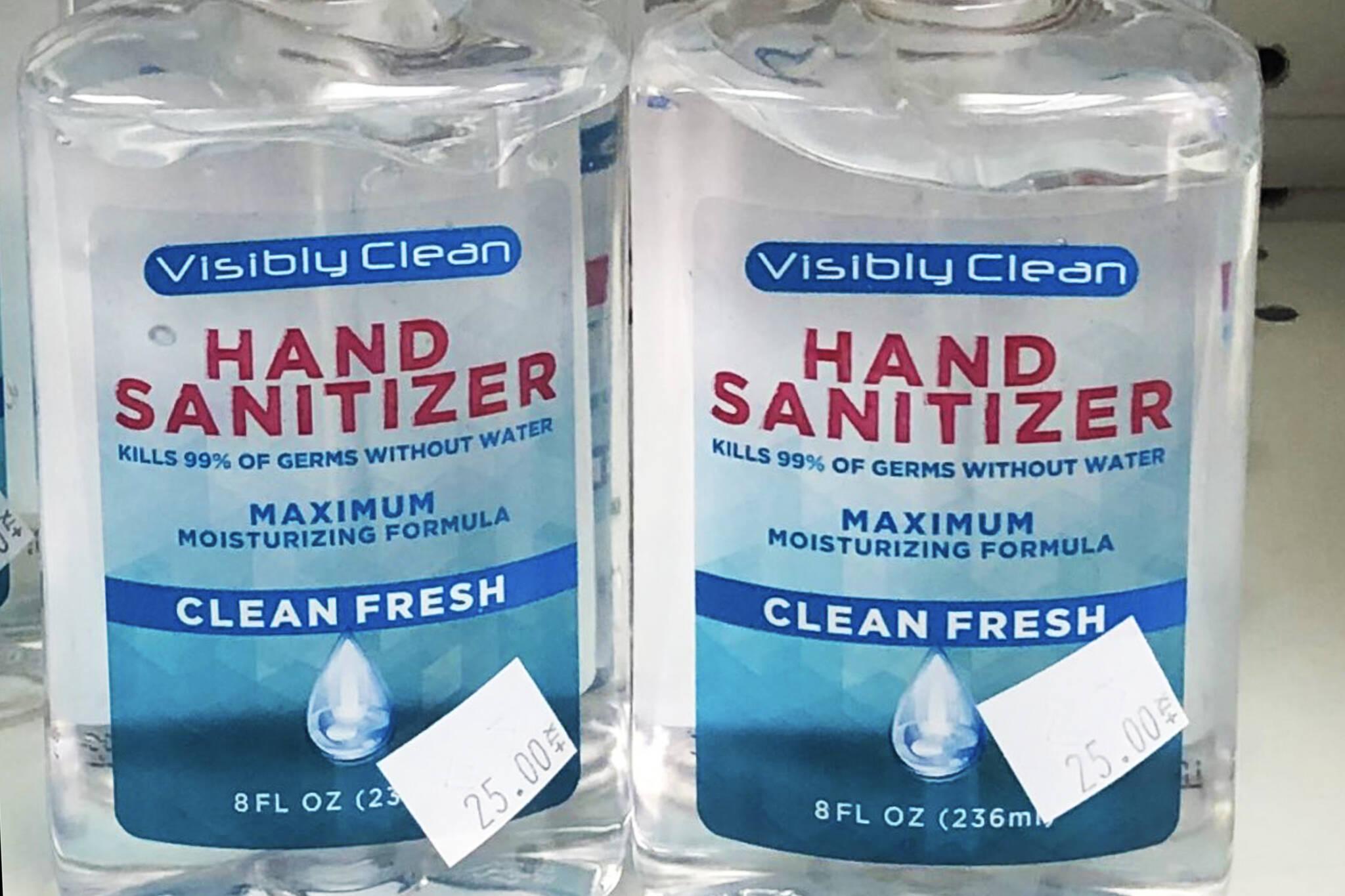 hand sanitizer canada
