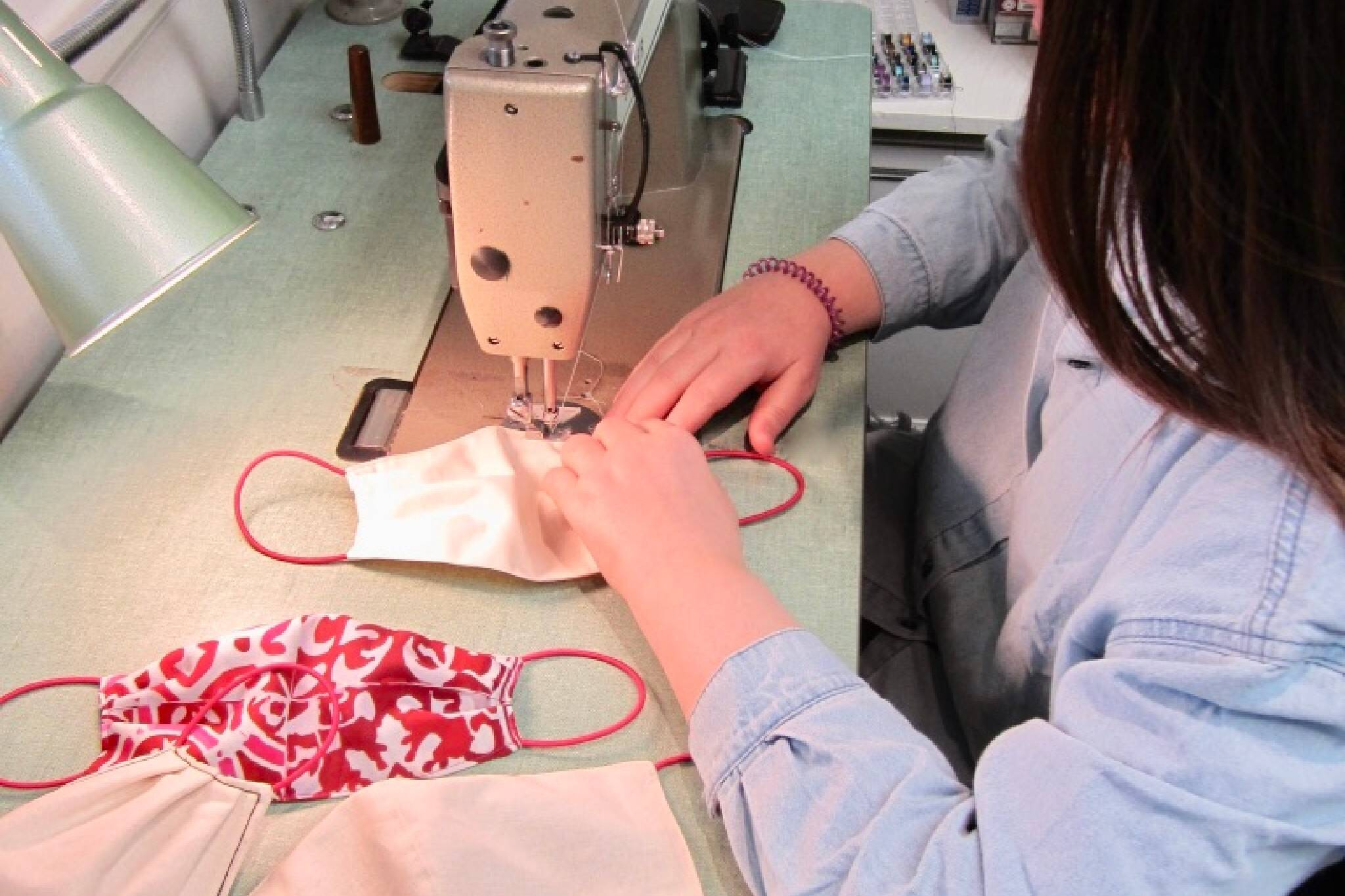 sewing face mask