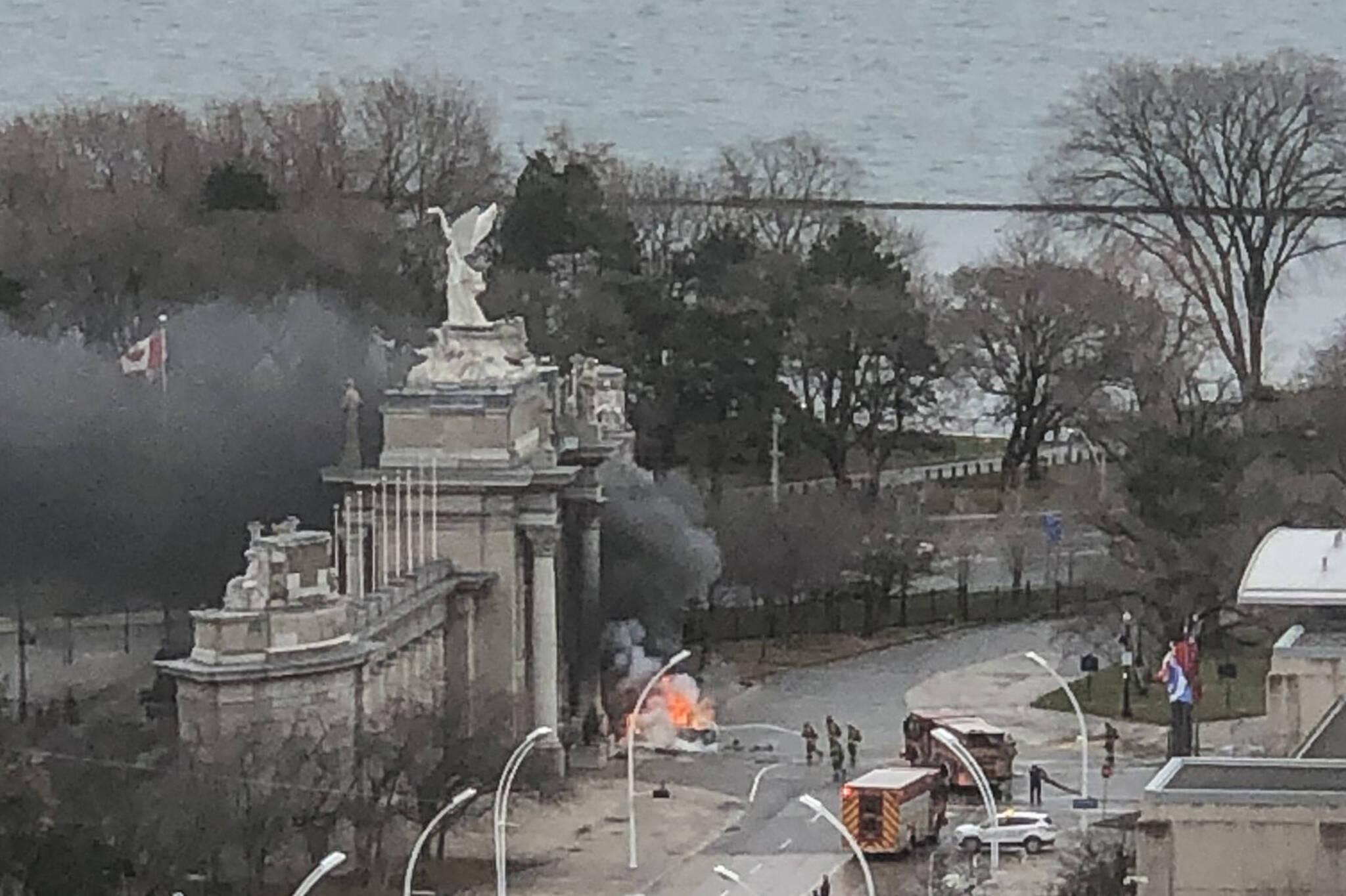car explosion toronto