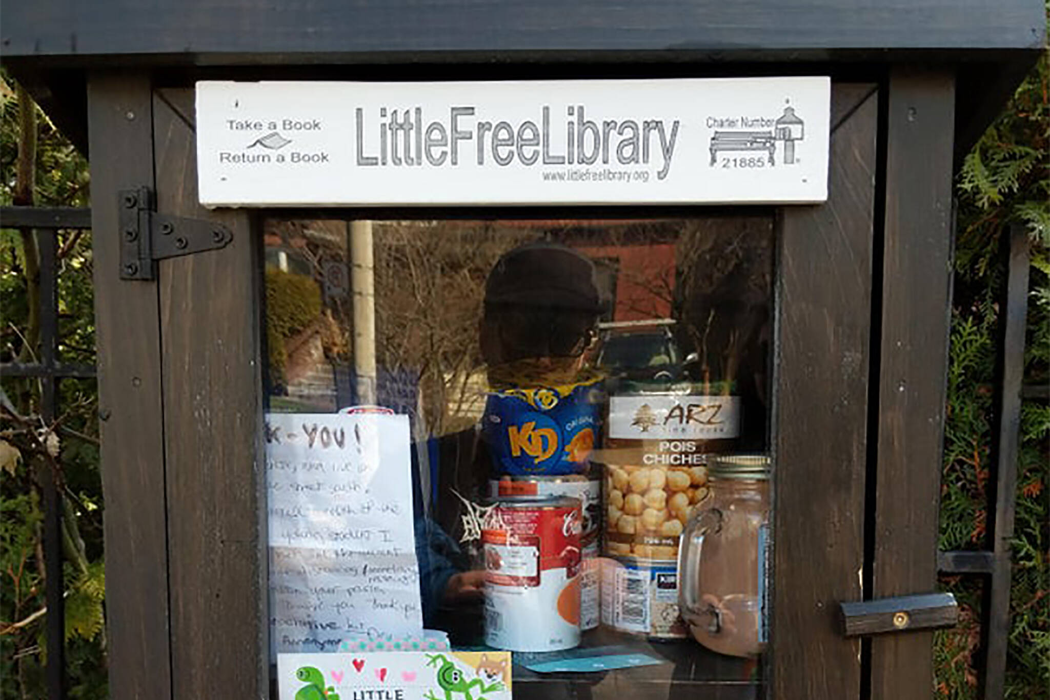 little free library pantry