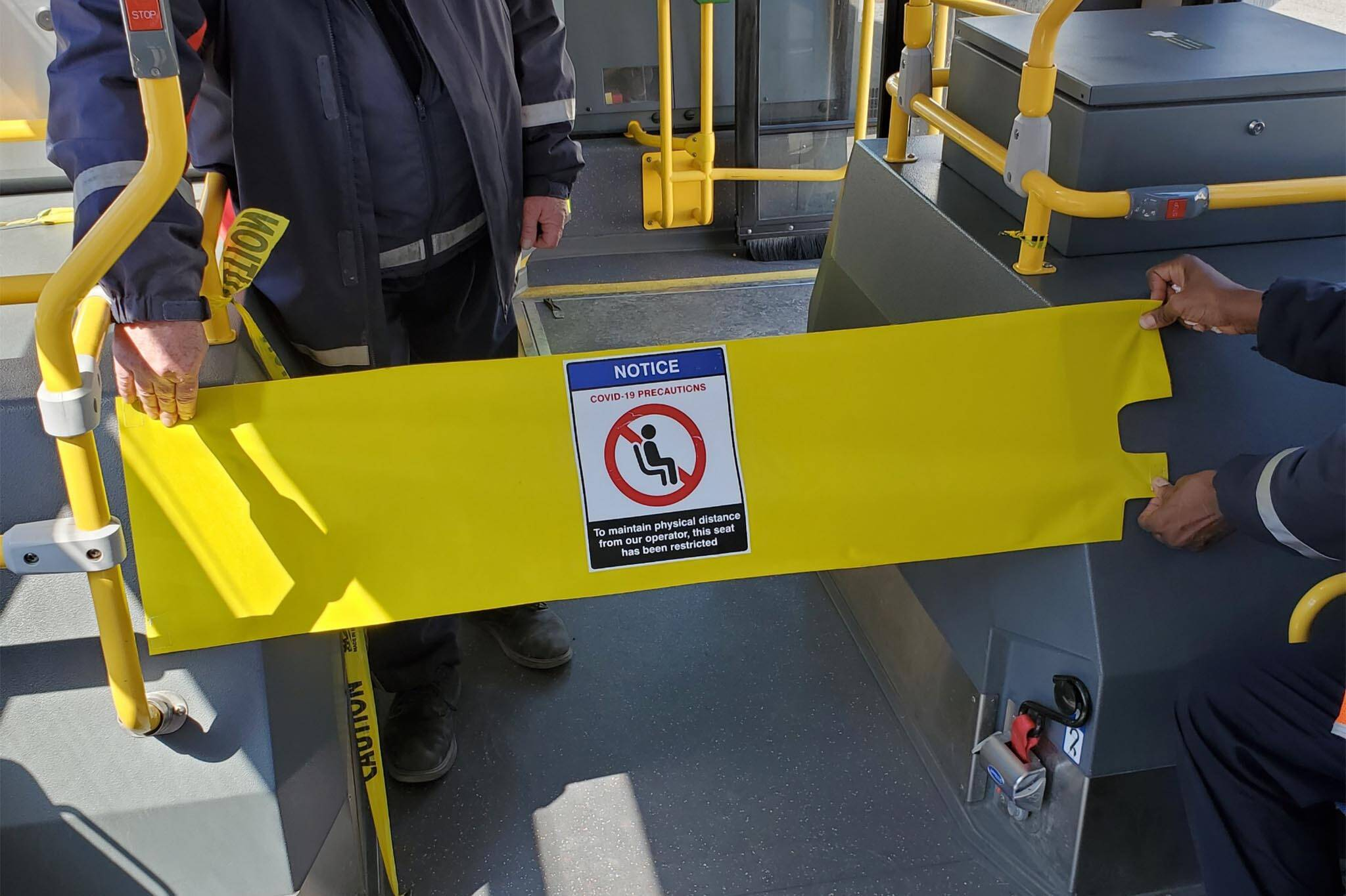 ttc bus barrier