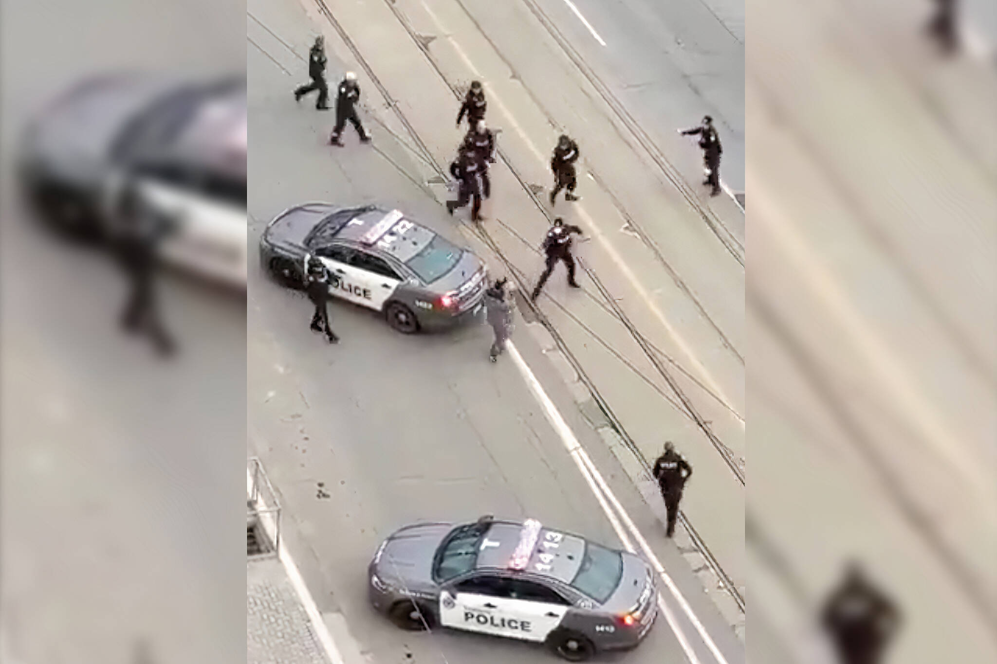 toronto police chase video