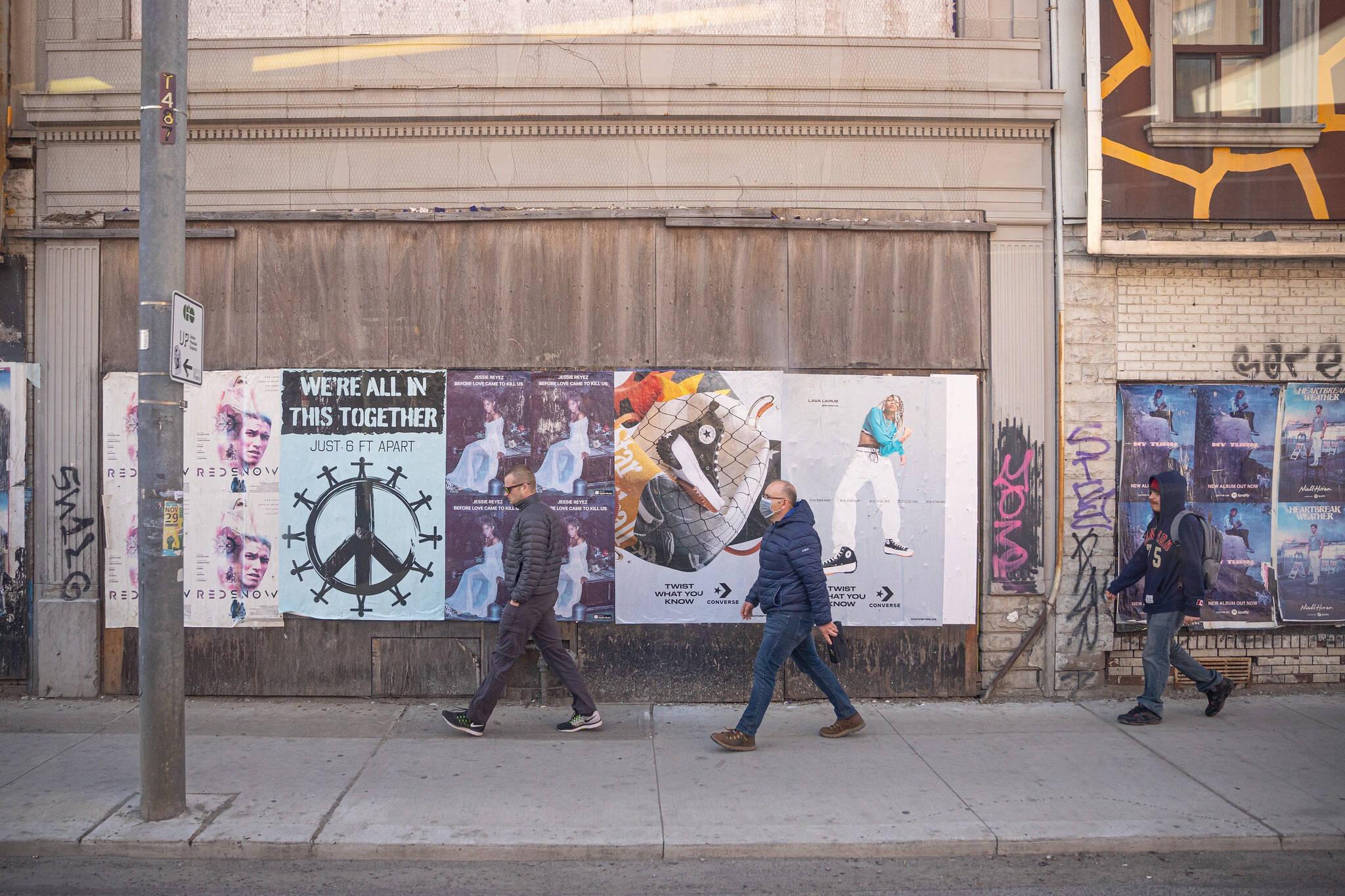 least busy walking Toronto