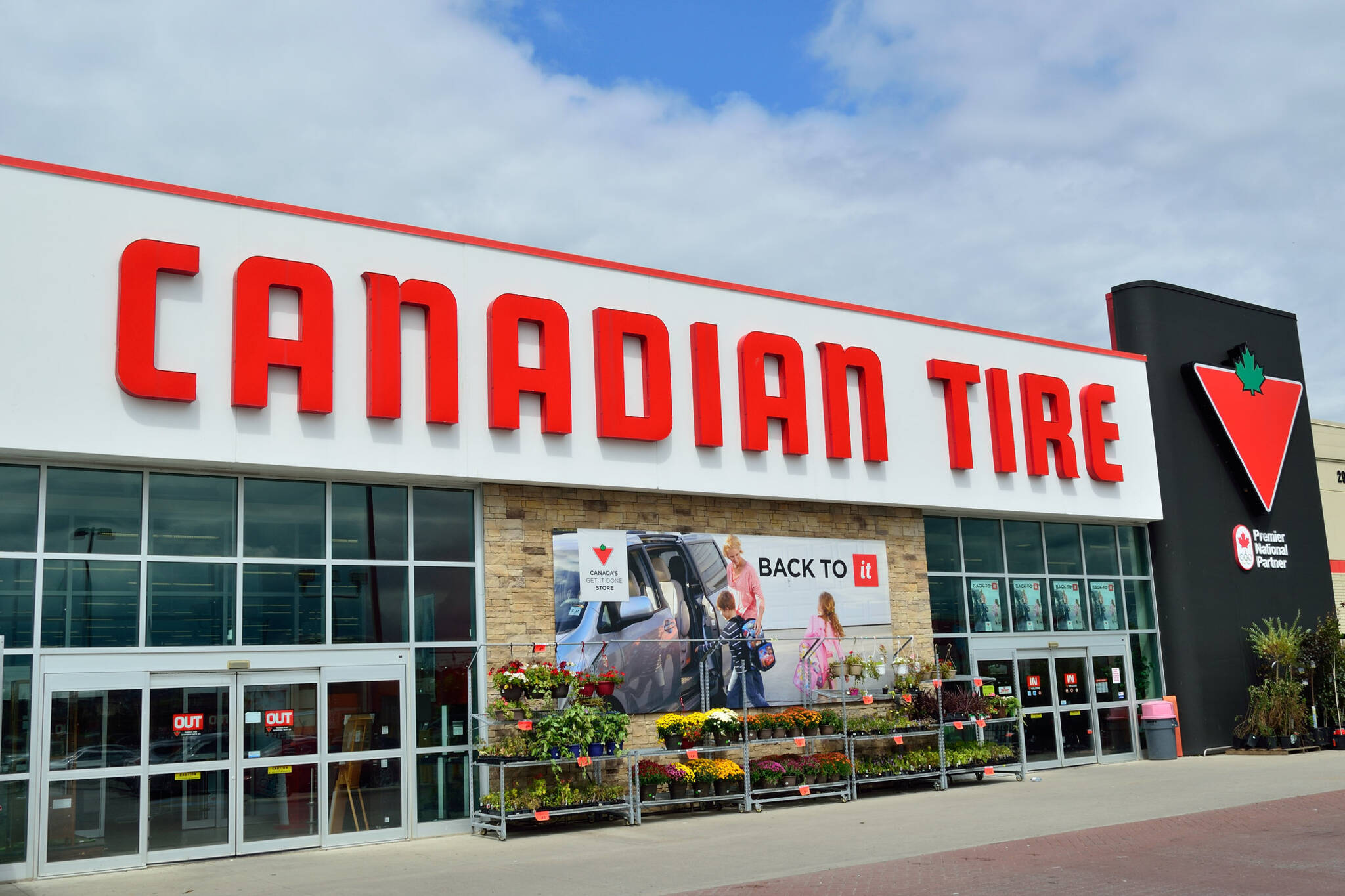 when is canadian tire reopening