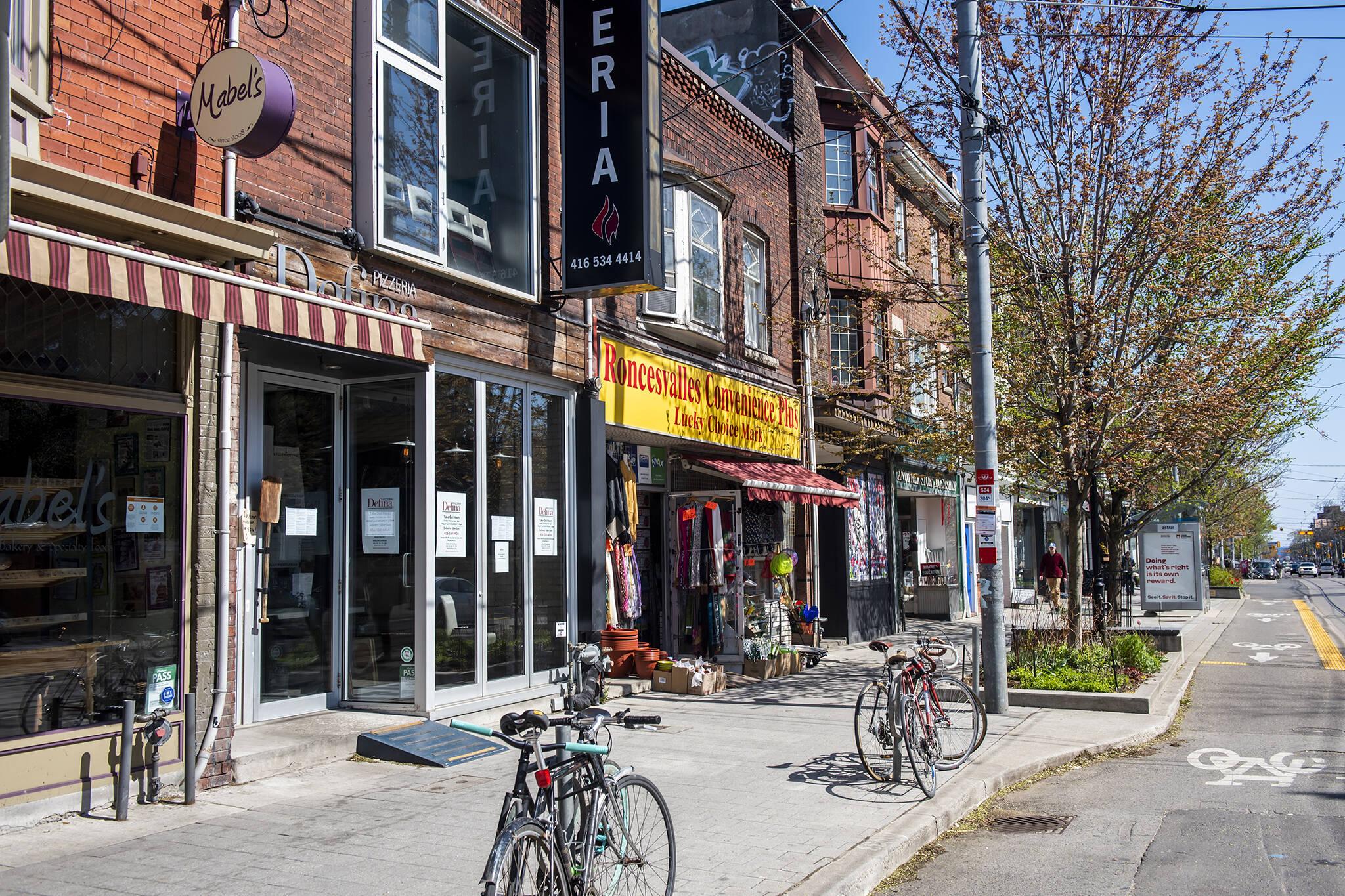 toronto store reopen
