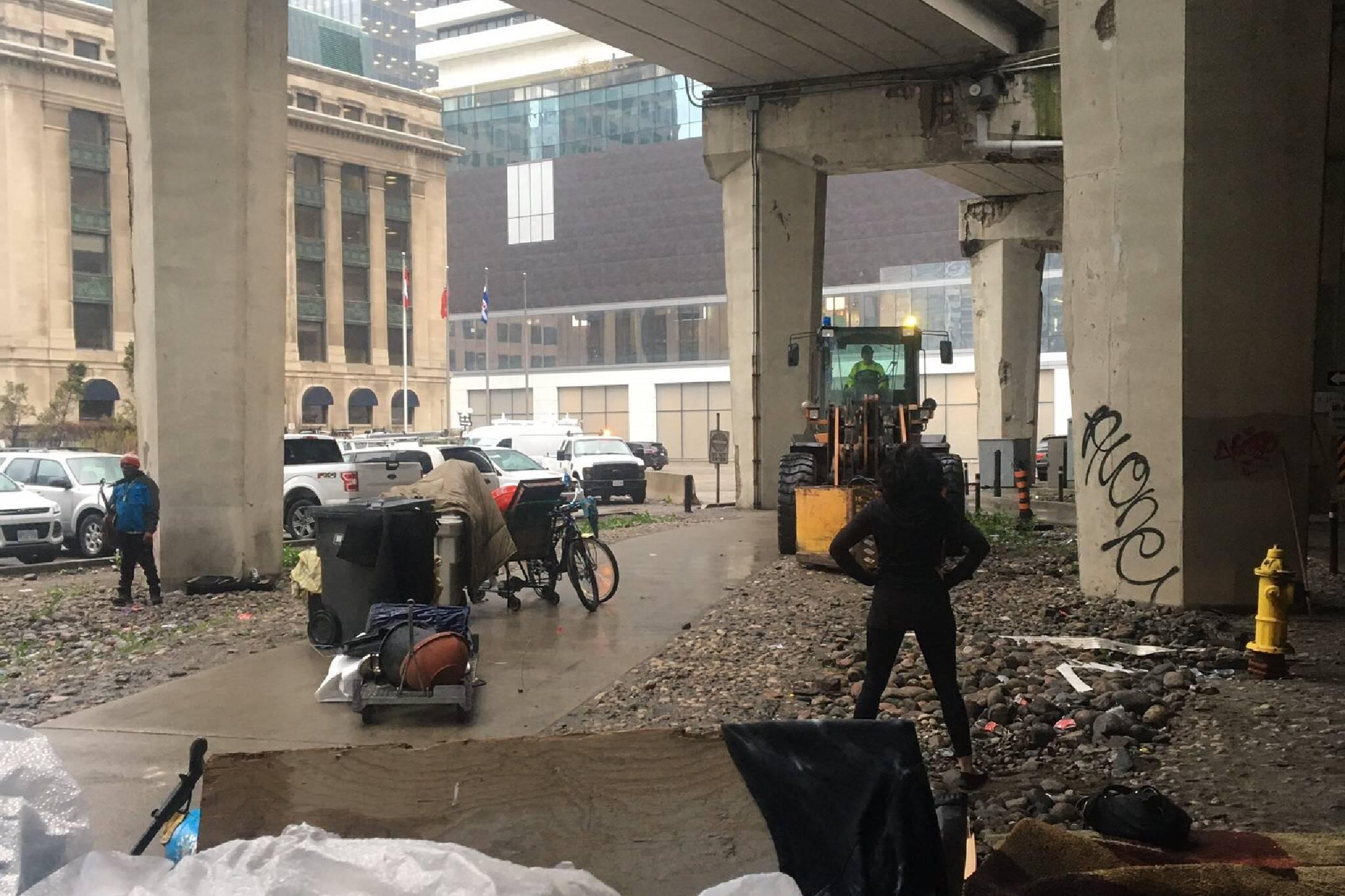 homeless encampments gardiner