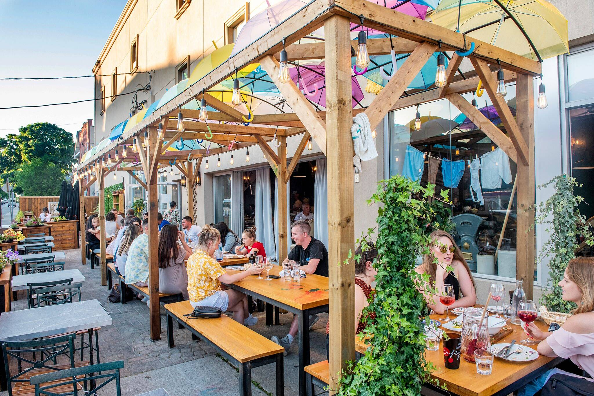 are patios open in Ontario