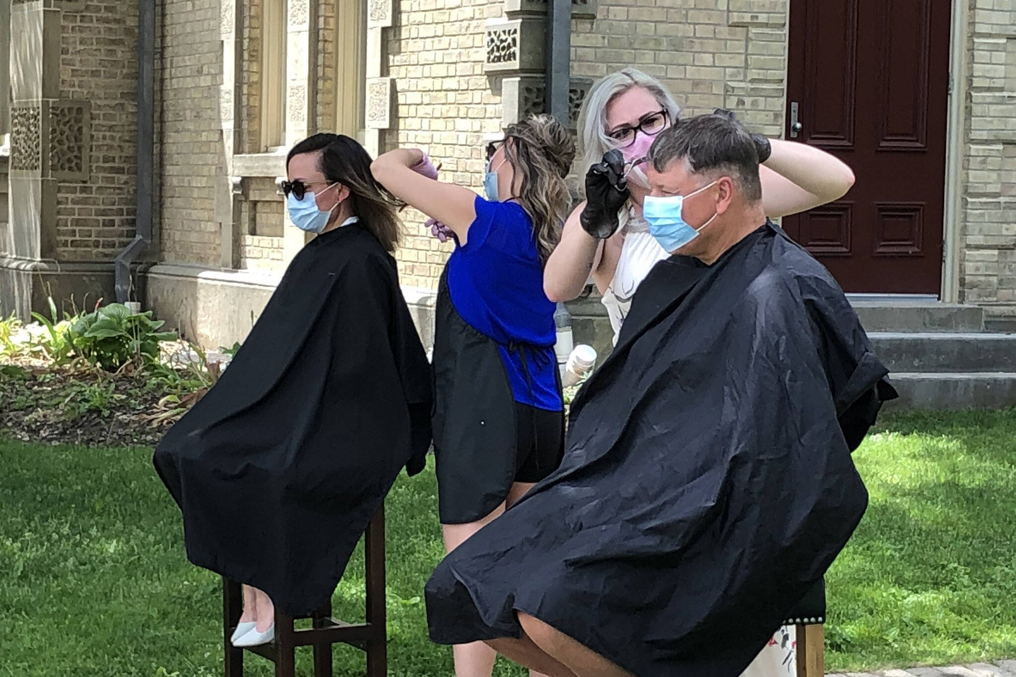 ontario haircut protest