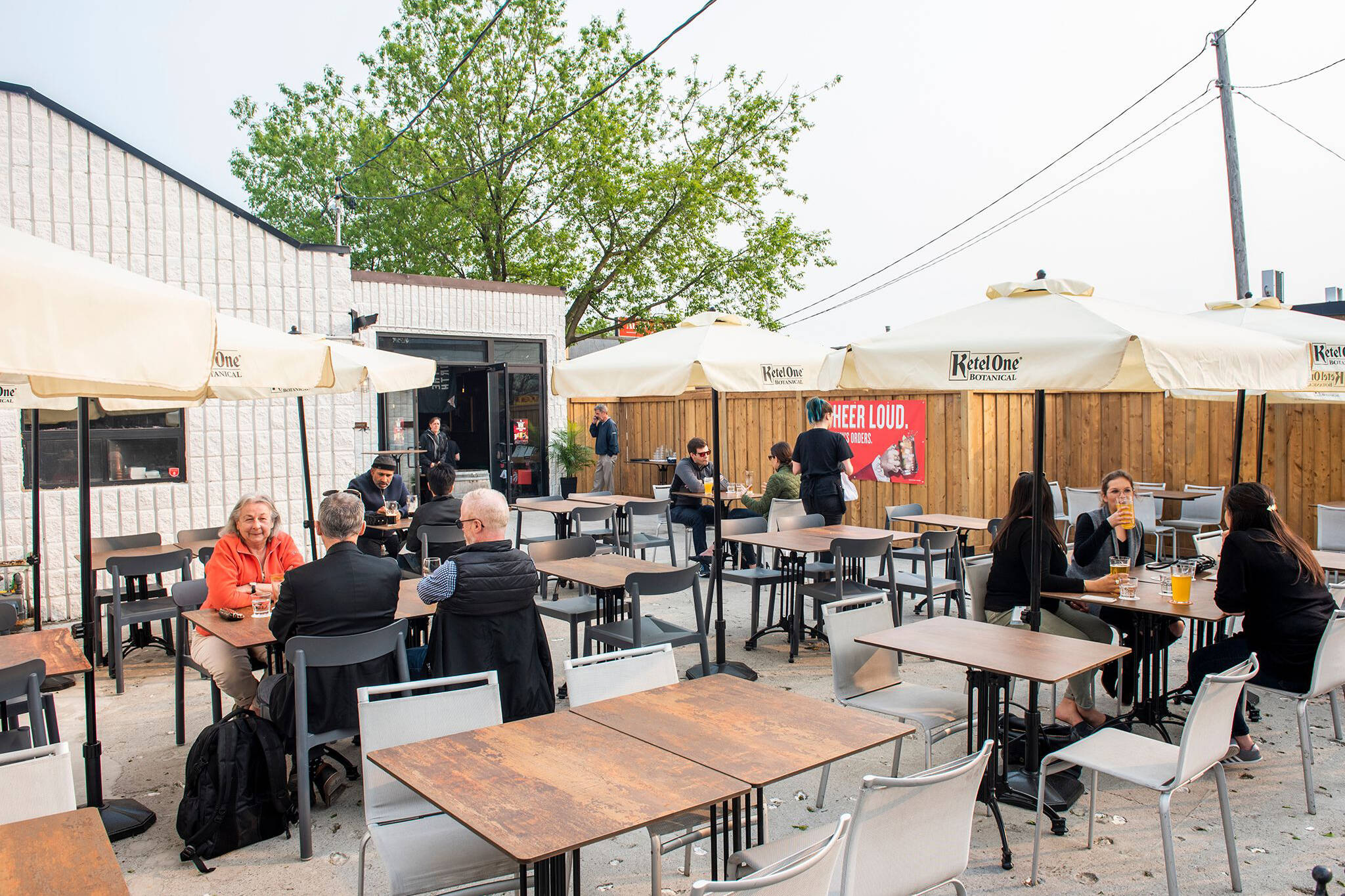 patios open in toronto