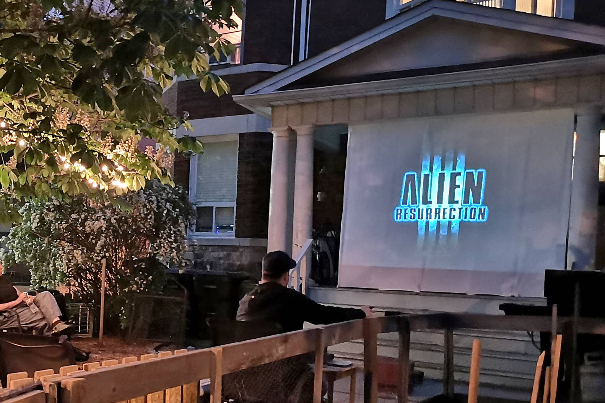 toronto outdoor movies