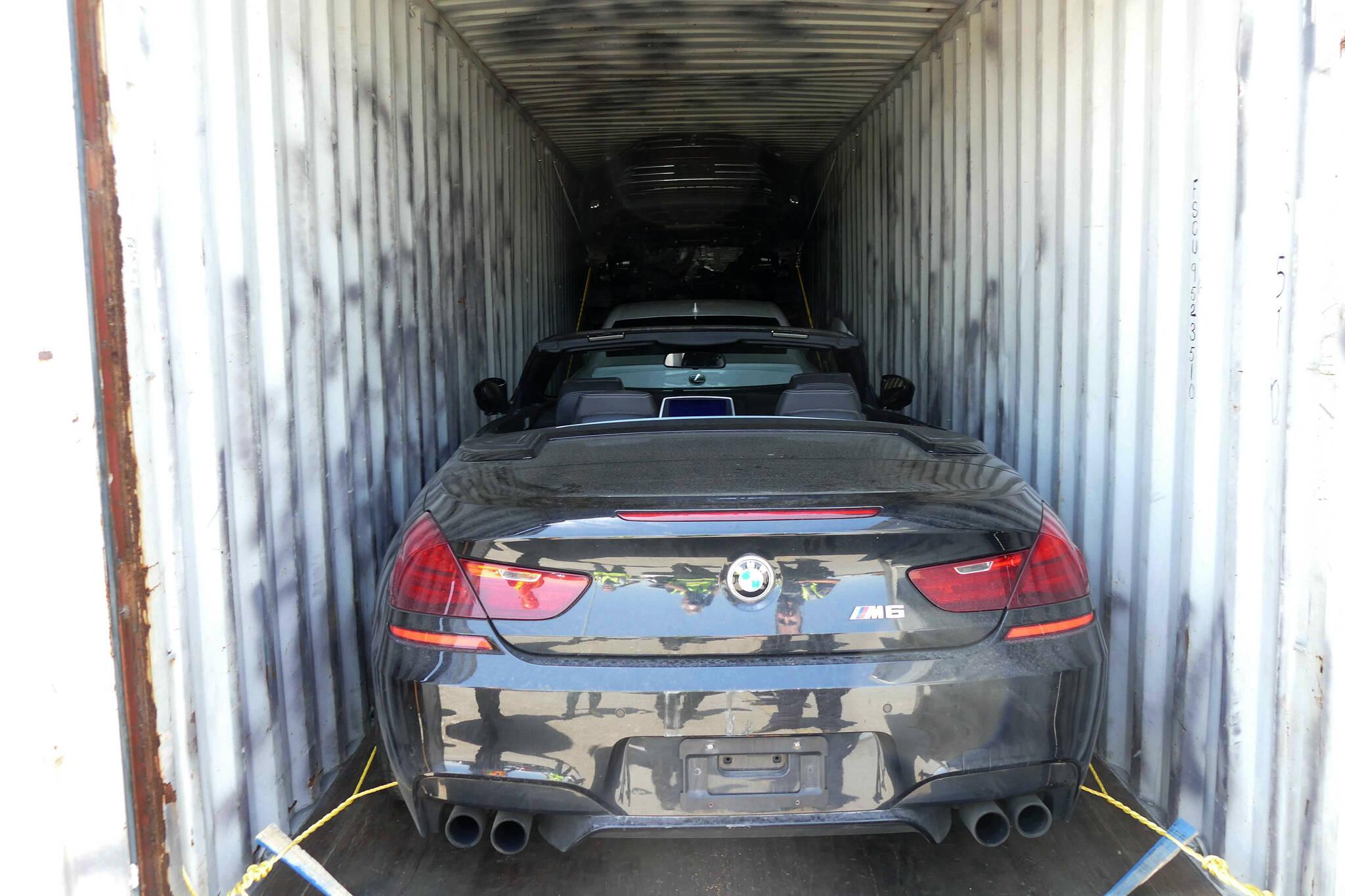 stolen cars italy