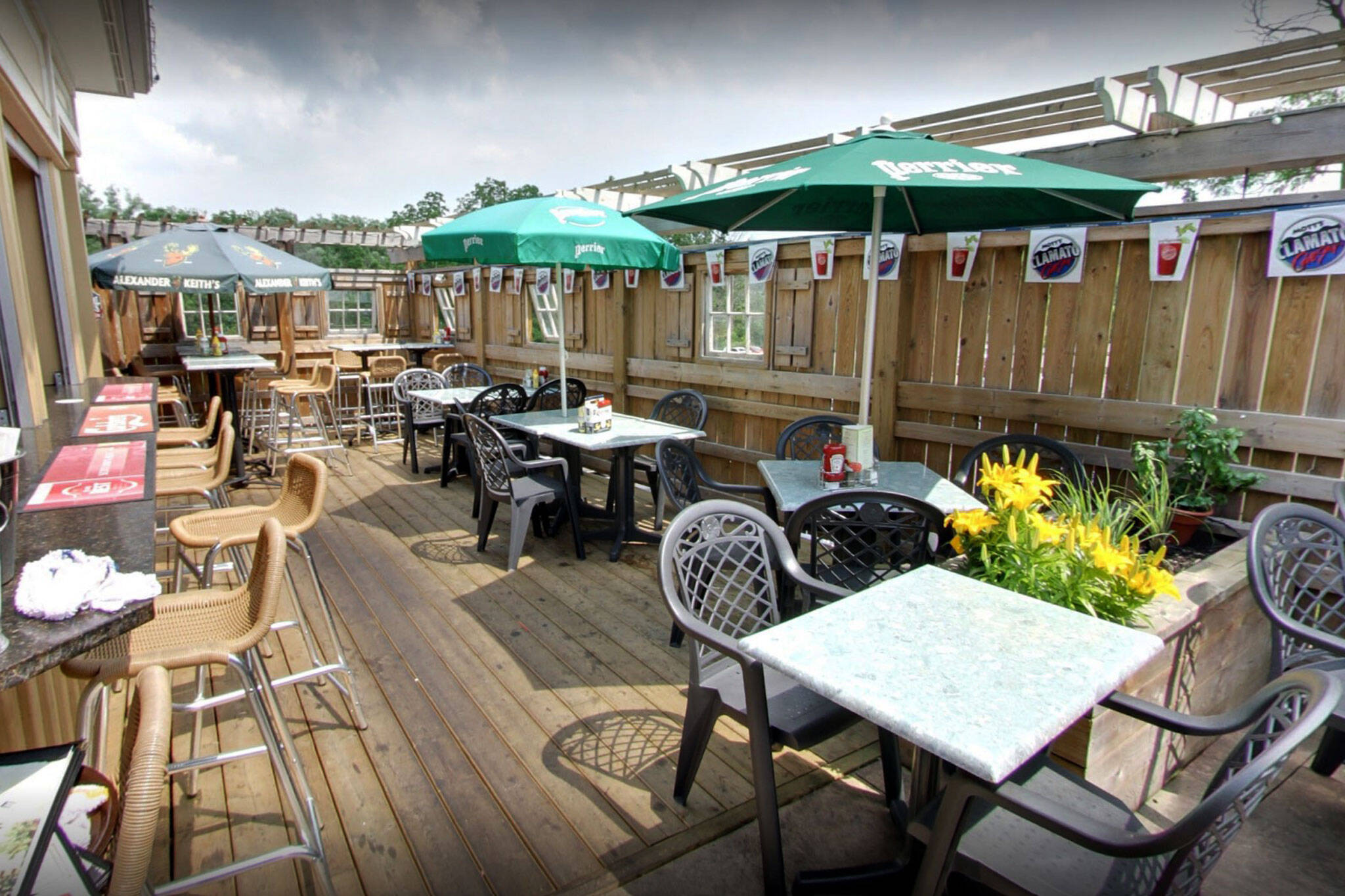 restaurant patios open