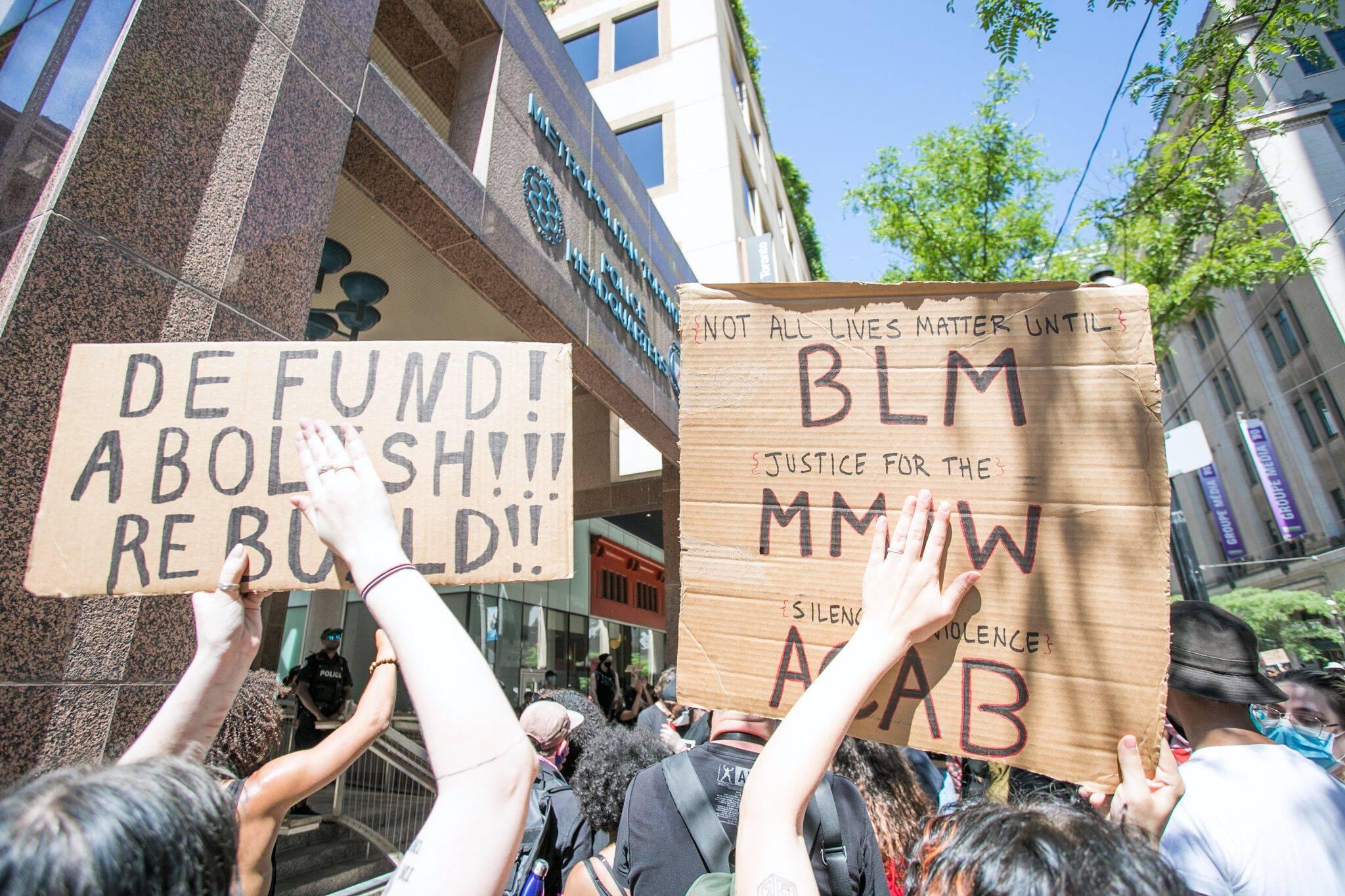 blm protest toronto